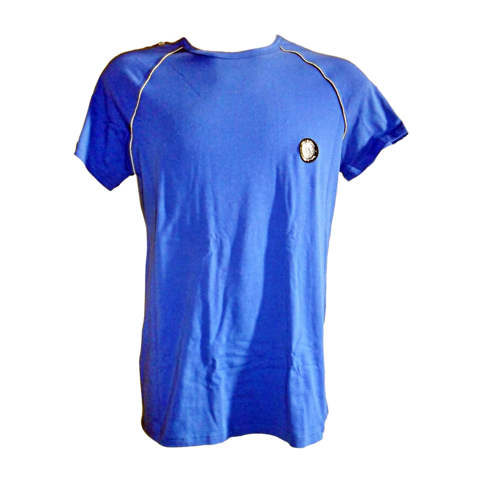 Tee-shirt JOHN GALLIANO Bleu, bleu marine, bleu turquoise