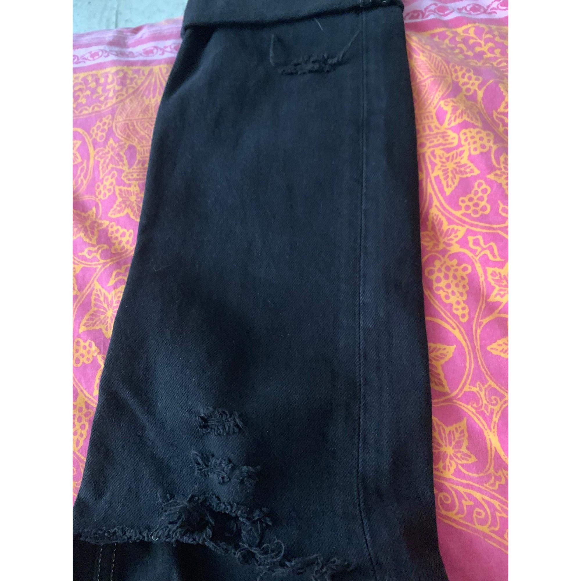 Jeans droit FORTE COUTURE Noir