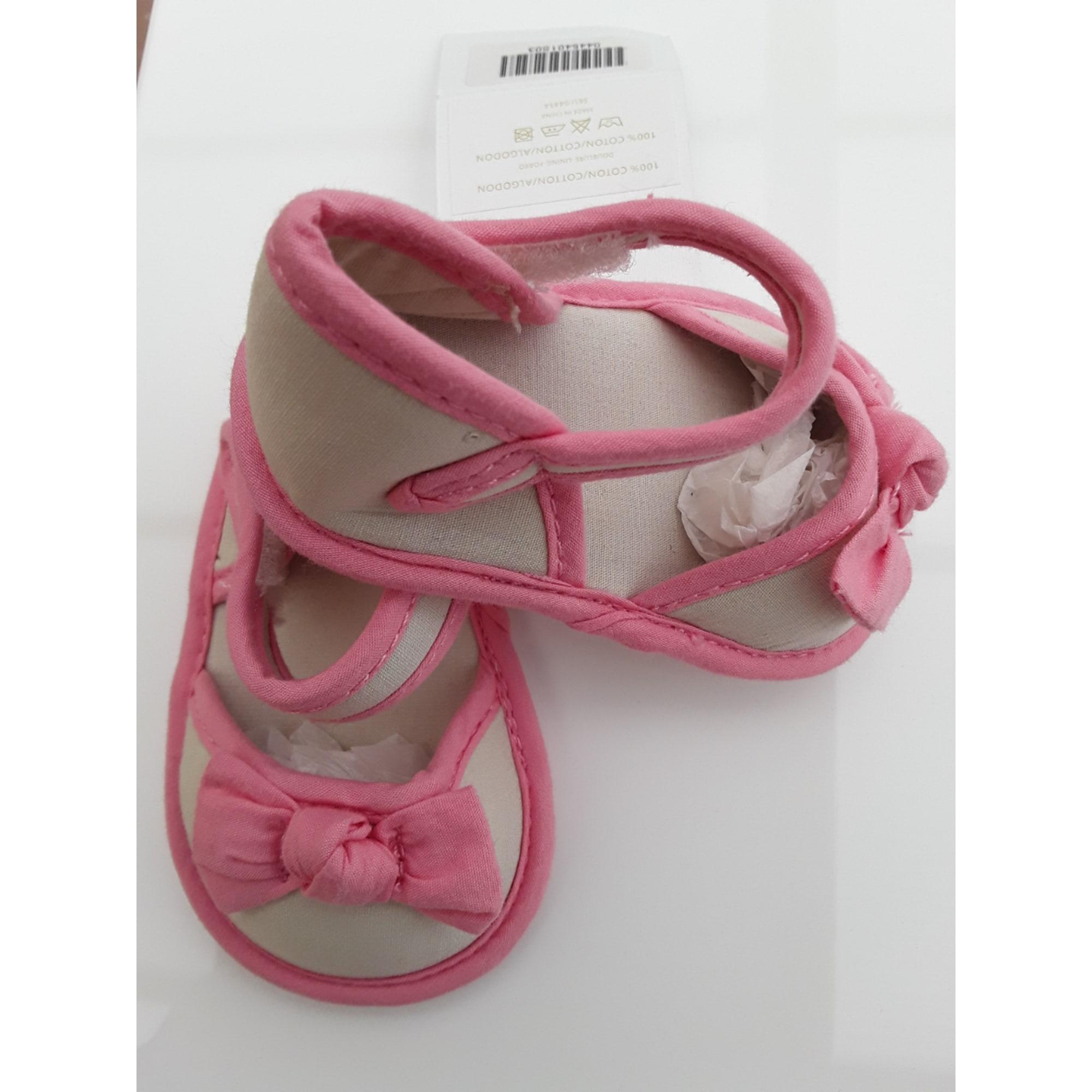 Sandales CHÂTEAU DE SABLE Beige/Rose