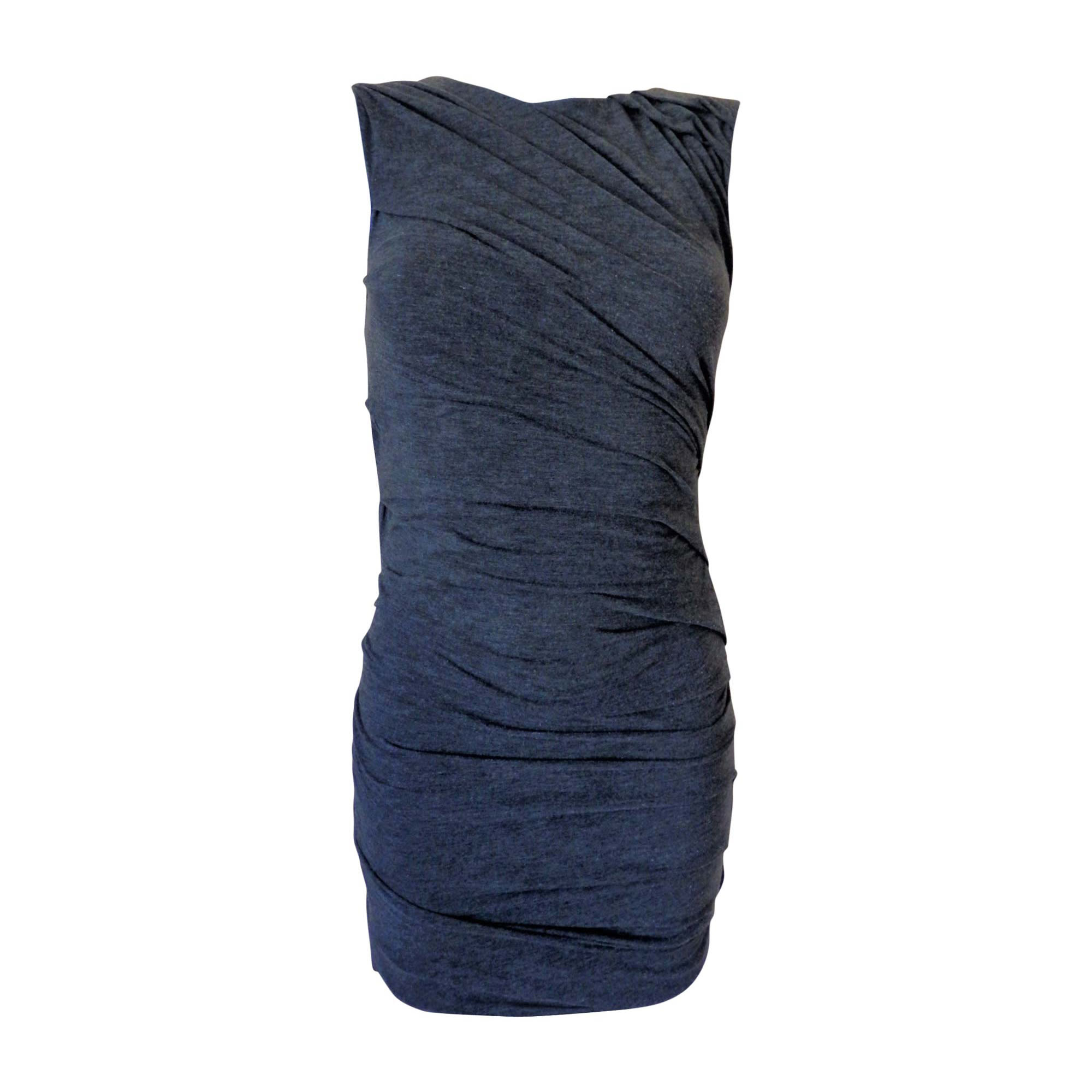 Robe courte JAY AHR Gris, anthracite