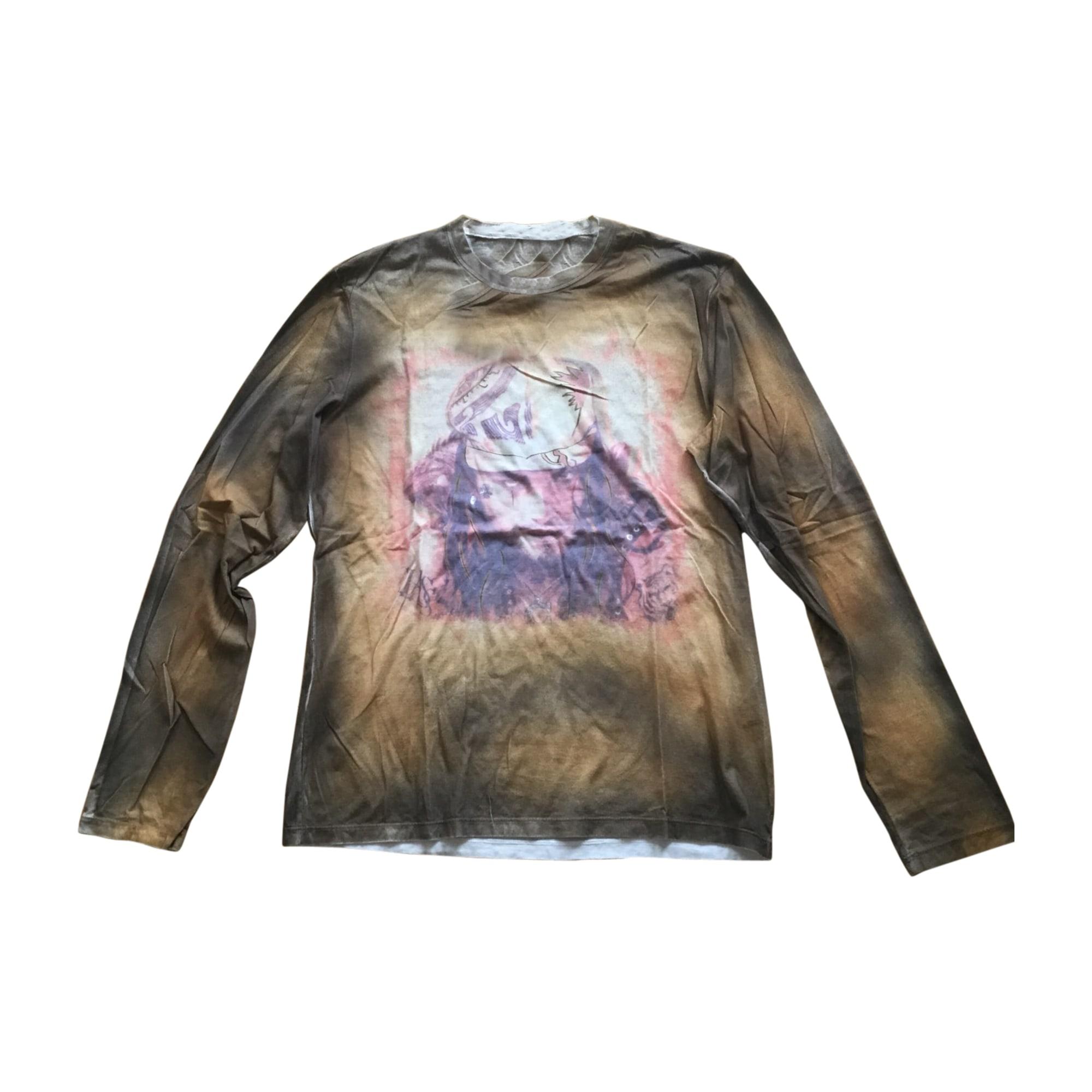 Tee-shirt ROBERTO CAVALLI Beige, camel