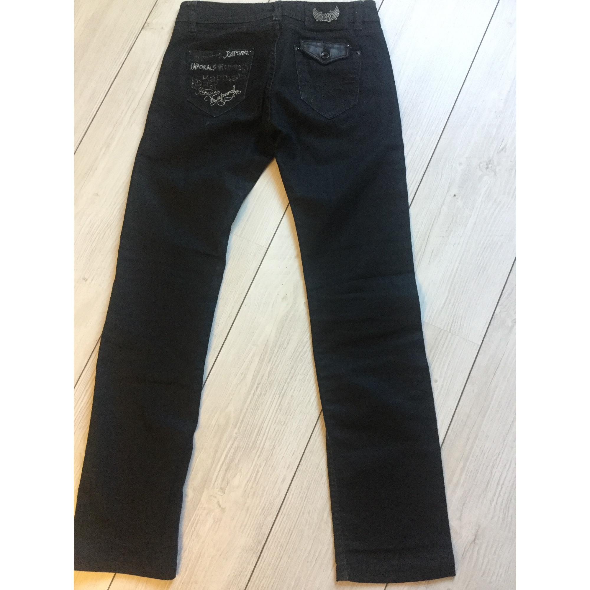 Jeans droit KAPORAL Noir