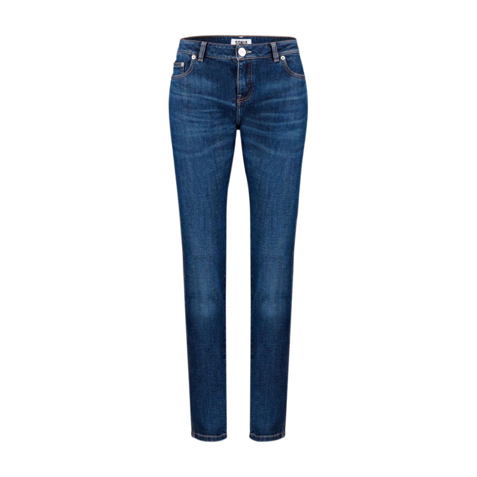Jeans slim SONIA BY SONIA RYKIEL Bleu, bleu marine, bleu turquoise