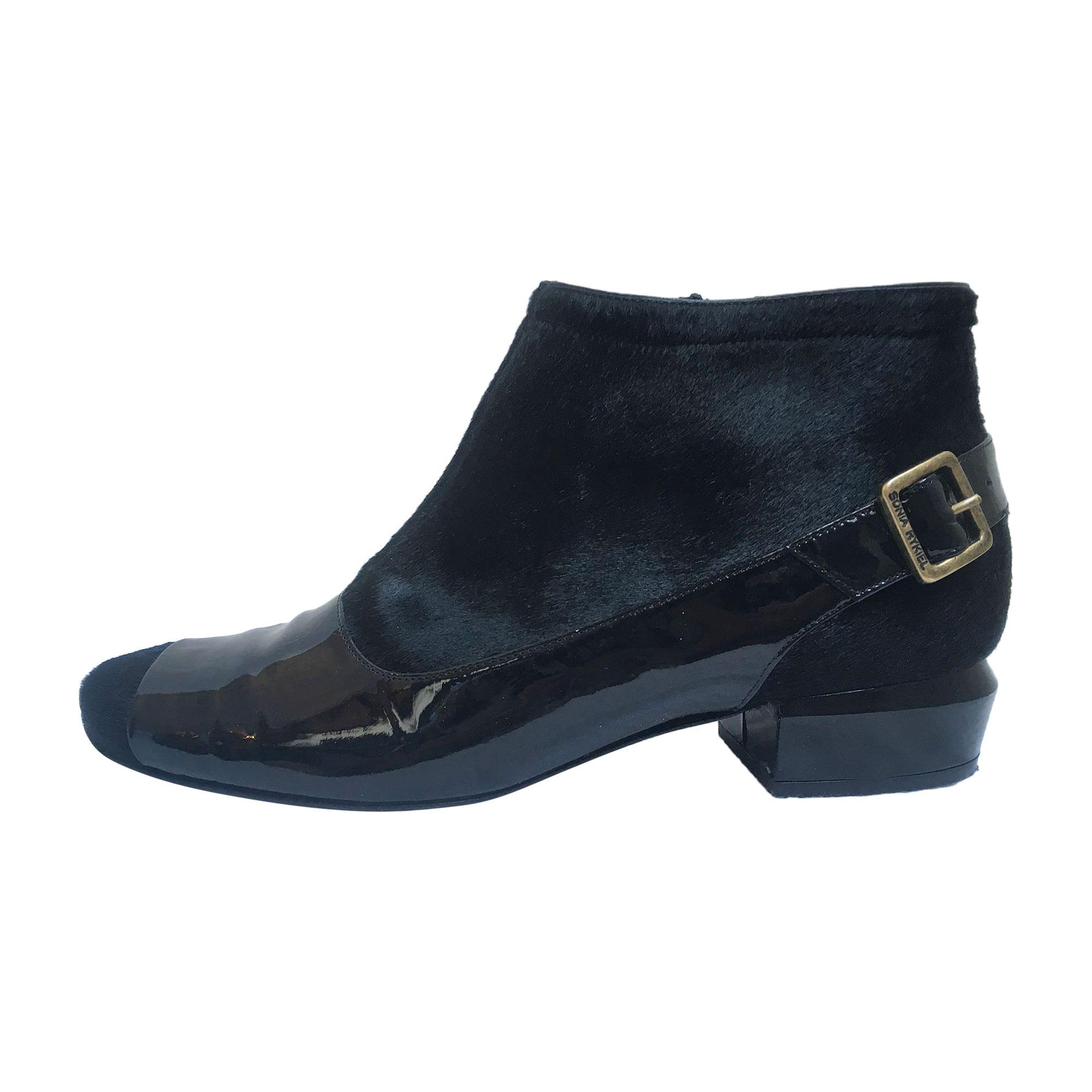 Bottines & low boots à talons SONIA RYKIEL Noir