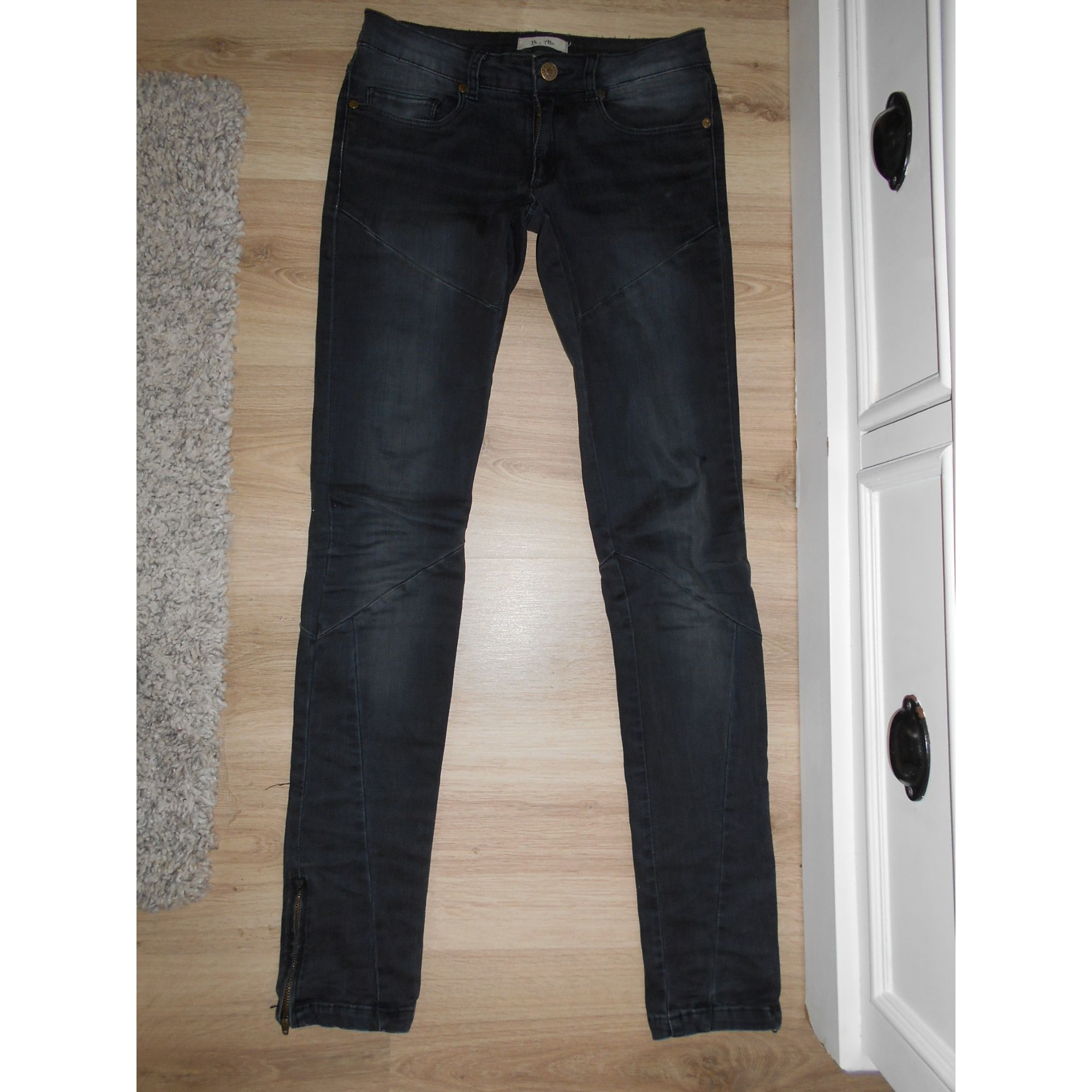 Jeans slim BEL AIR Noir