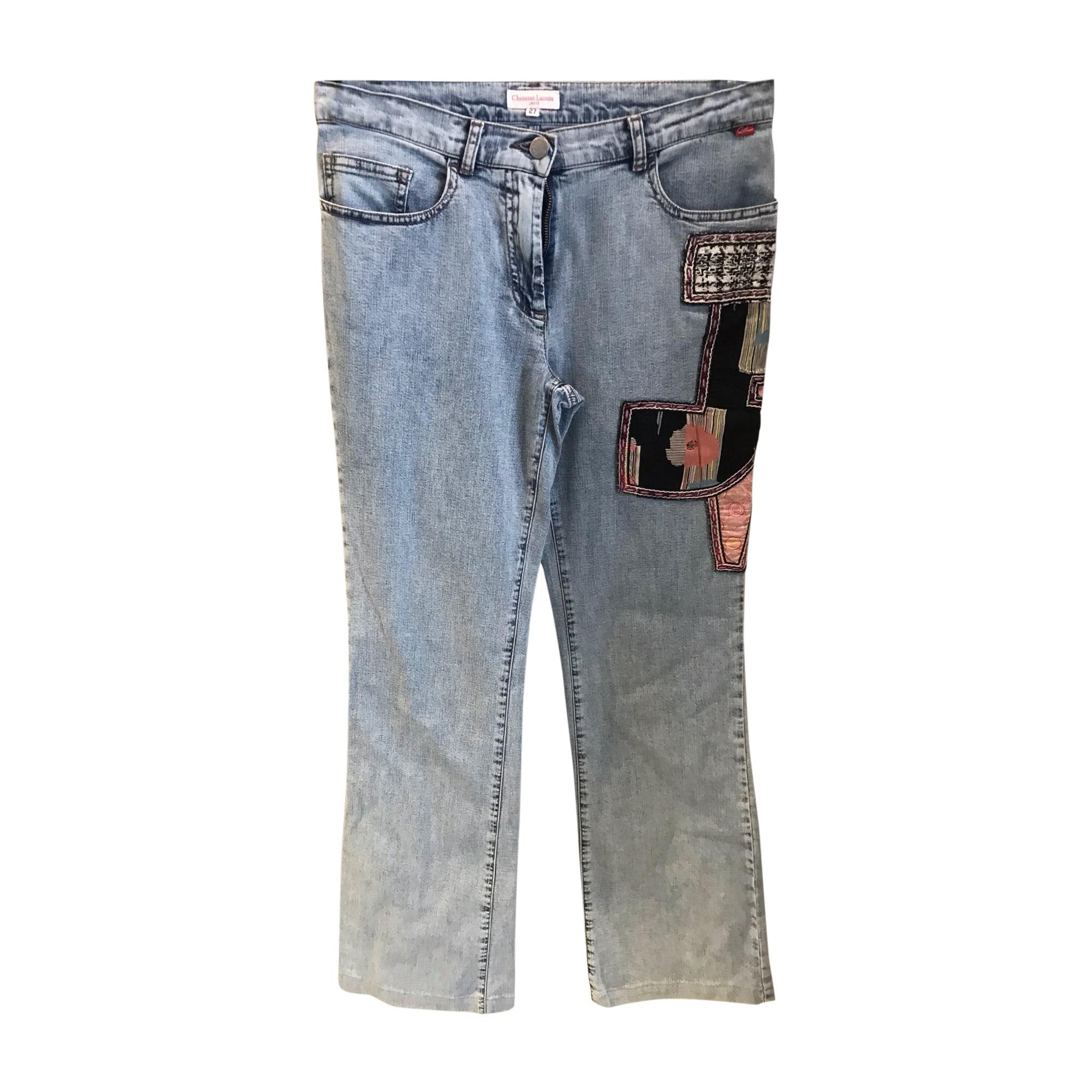 Tailleur pantalon CHRISTIAN LACROIX Bleu, bleu marine, bleu turquoise