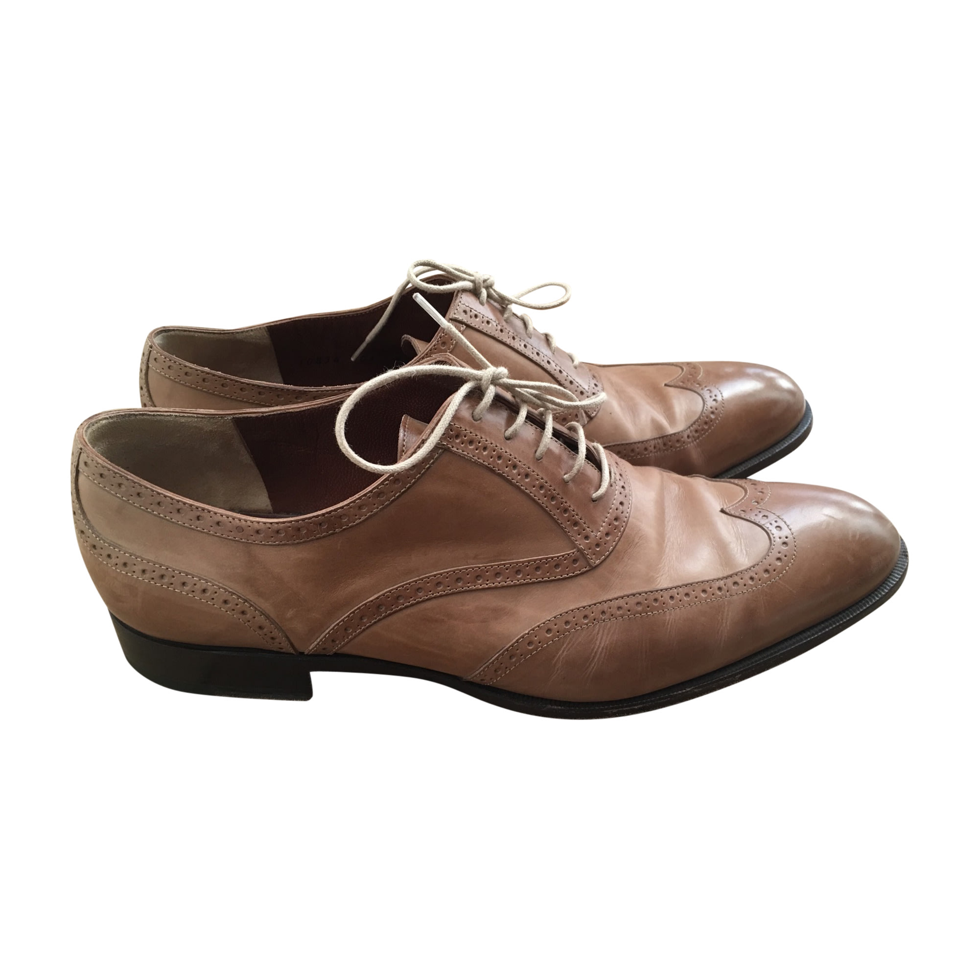 Chaussures à lacets FRATELLI ROSSETTI Beige, camel