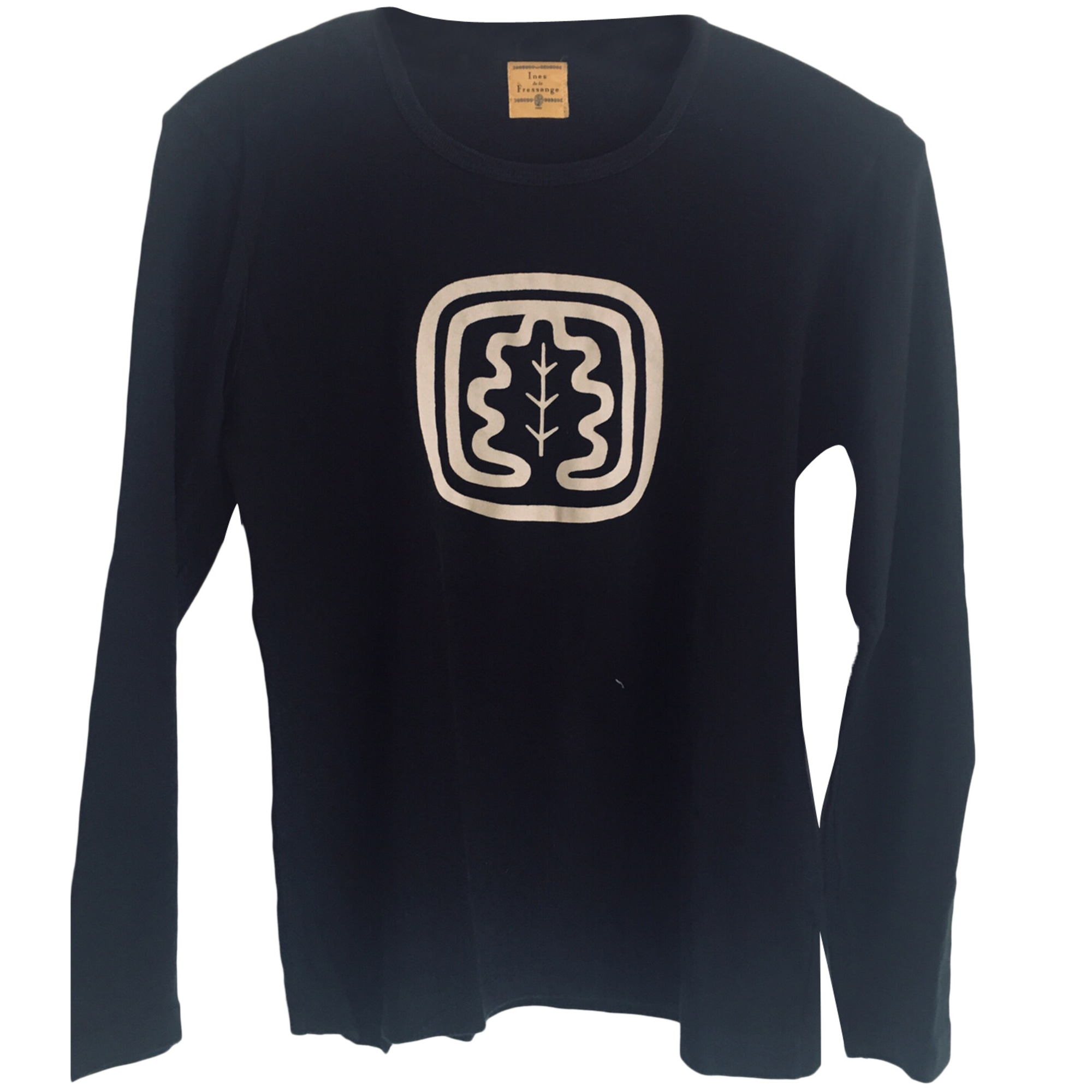 Top, tee-shirt INÈS DE LA FRESSANGE Noir