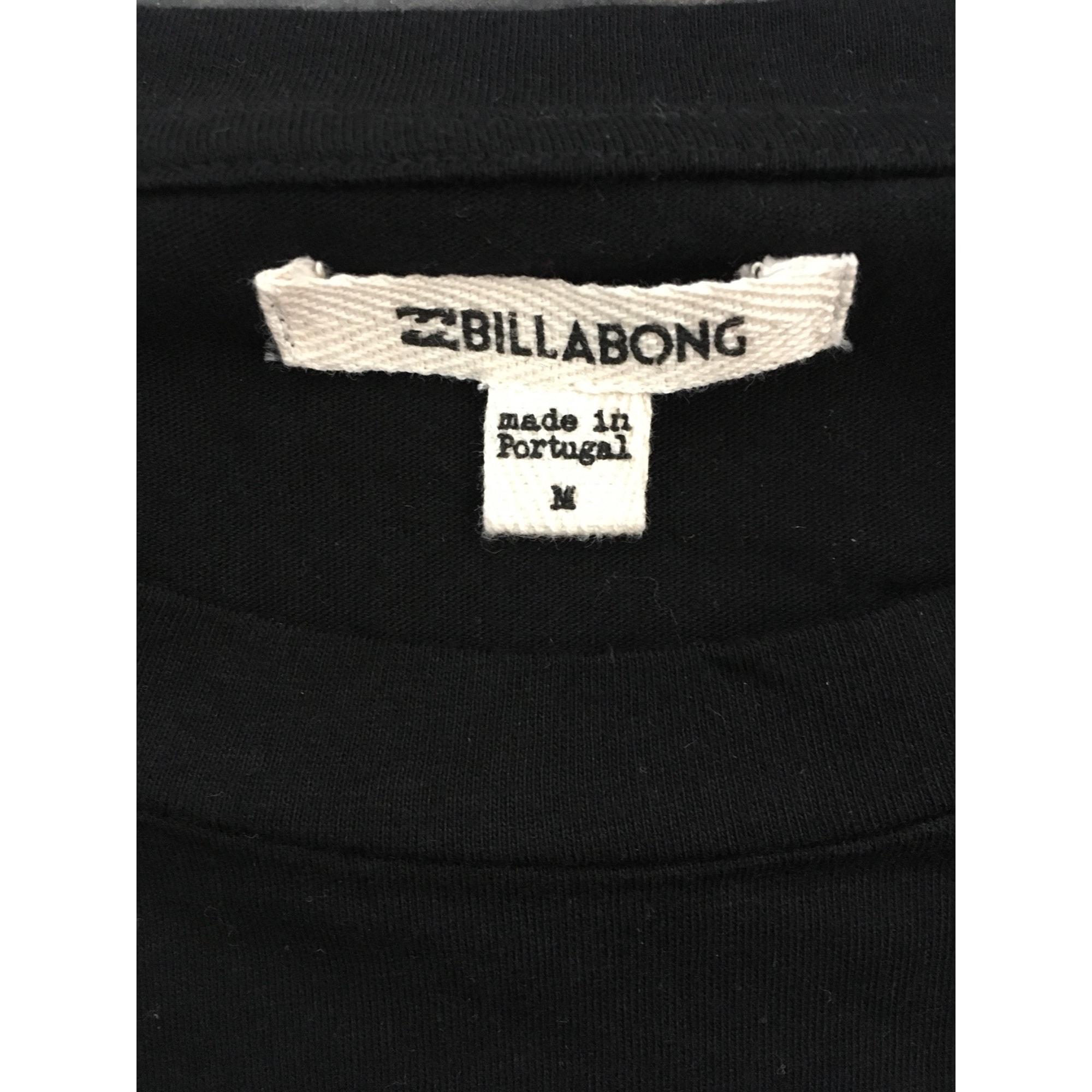 Tee-shirt BILLABONG Noir et blanc