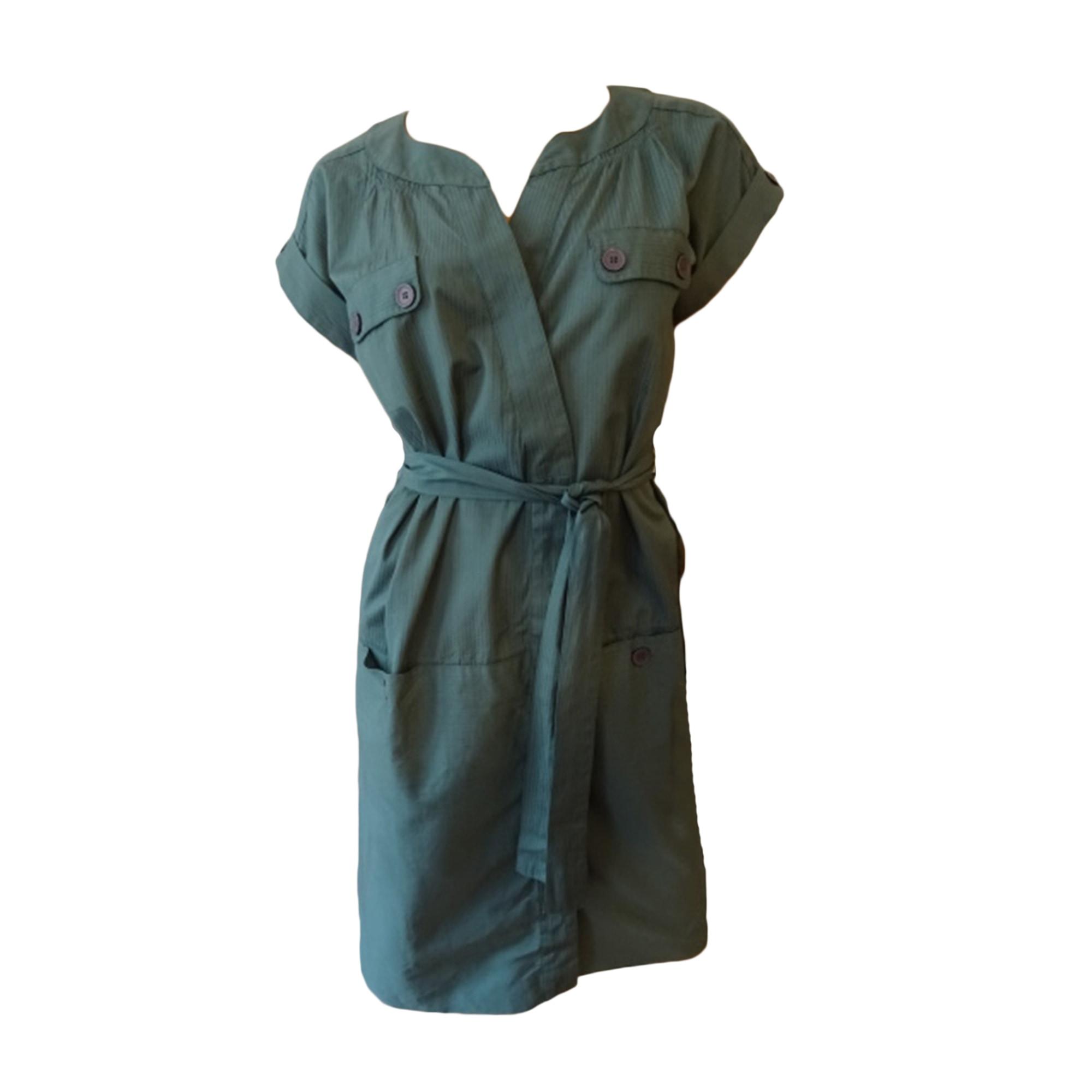 Robe courte COMPTOIR DES COTONNIERS Vert