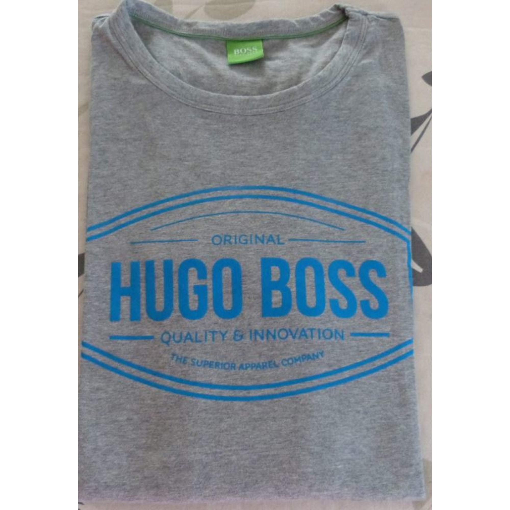 Tee-shirt HUGO BOSS Gris, anthracite