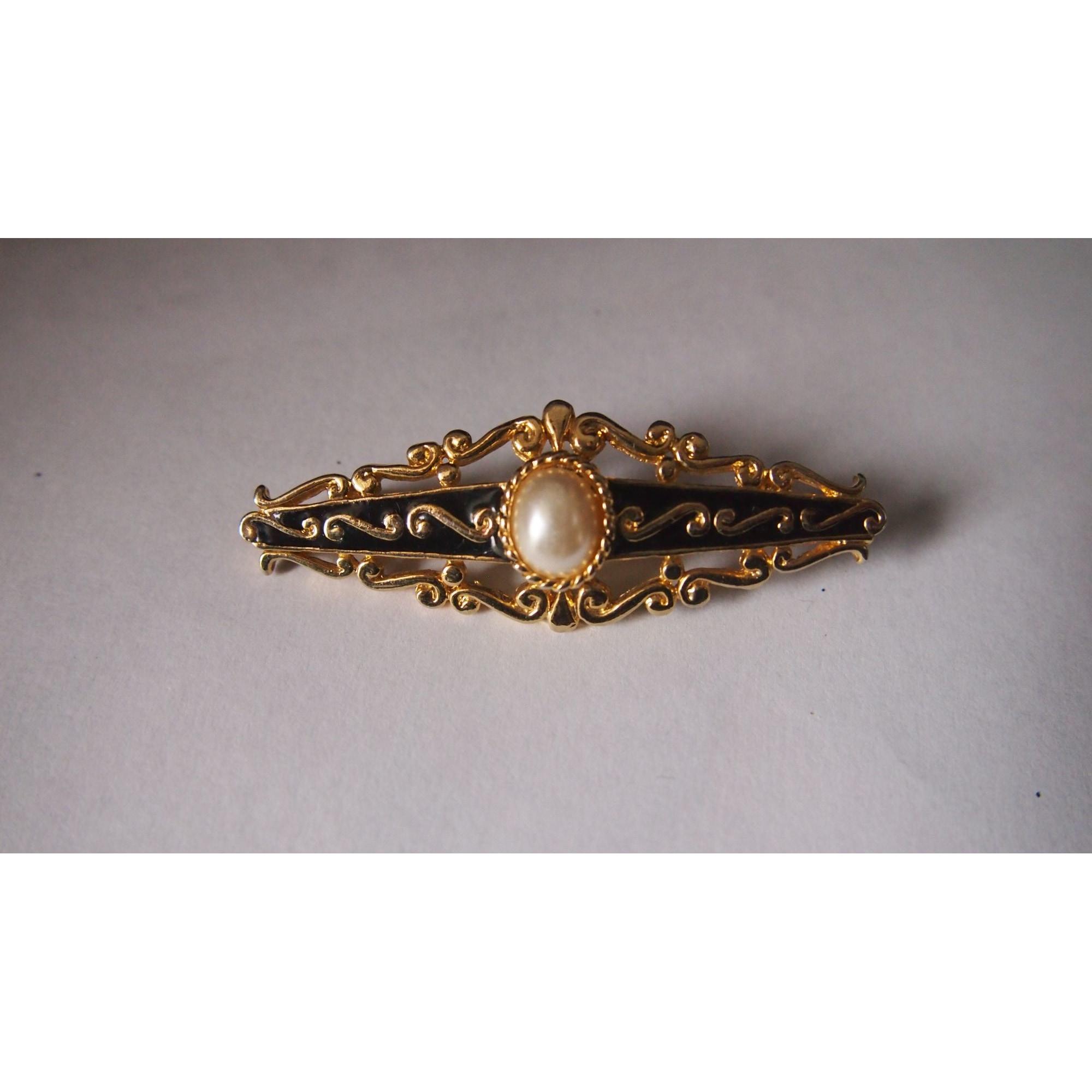 Broche GL PARIS Doré, bronze, cuivre