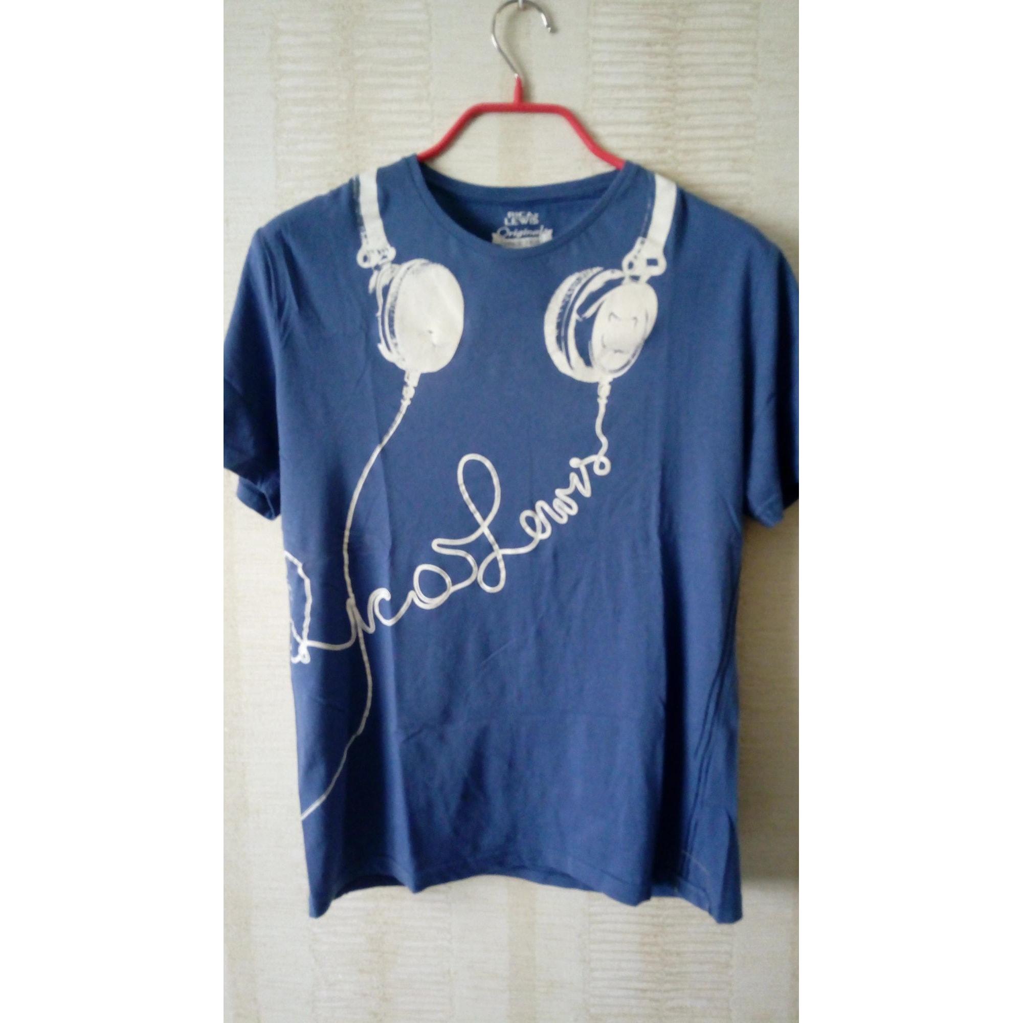 Tee-shirt RICA LEWIS Bleu, bleu marine, bleu turquoise
