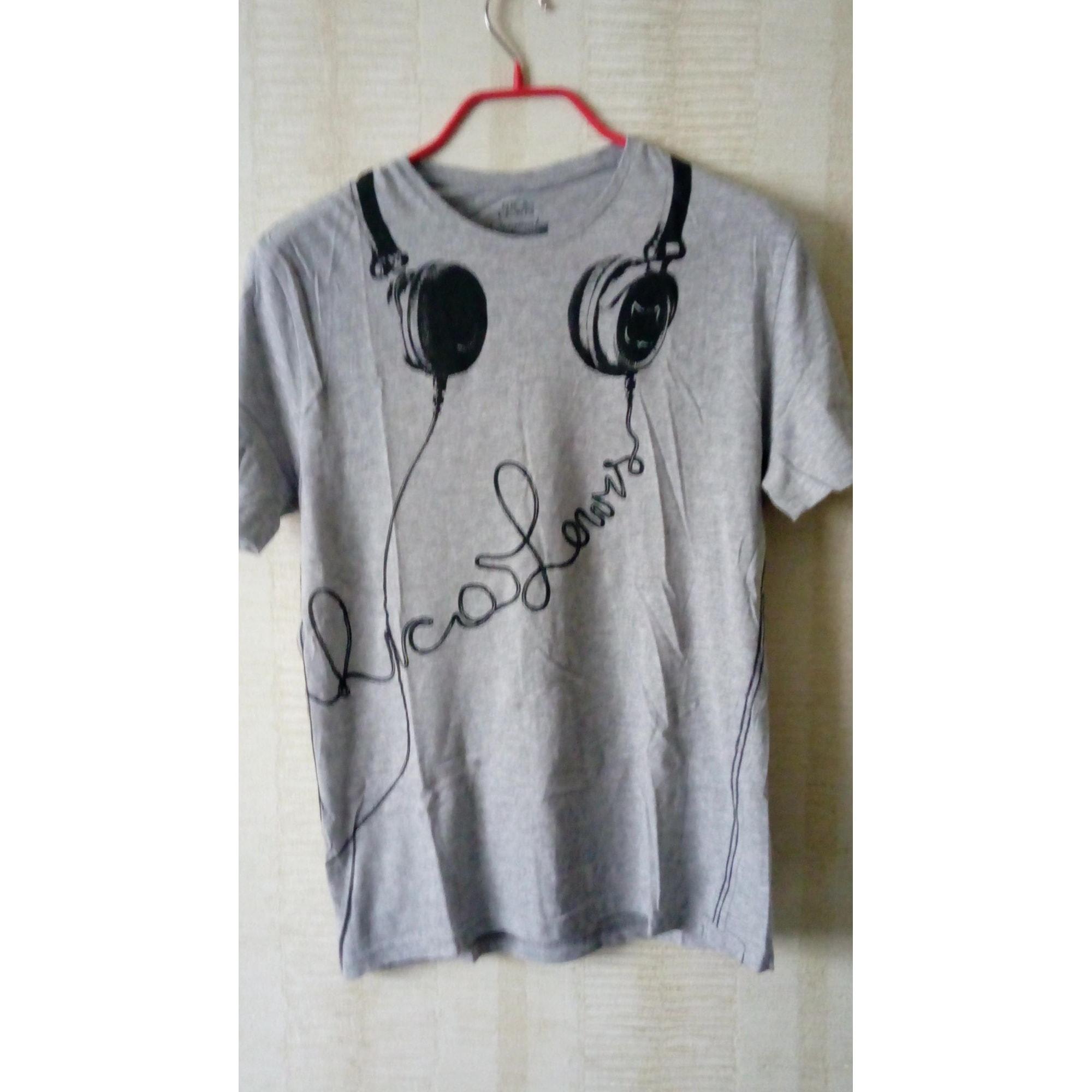 Tee-shirt RICA LEWIS Gris, anthracite