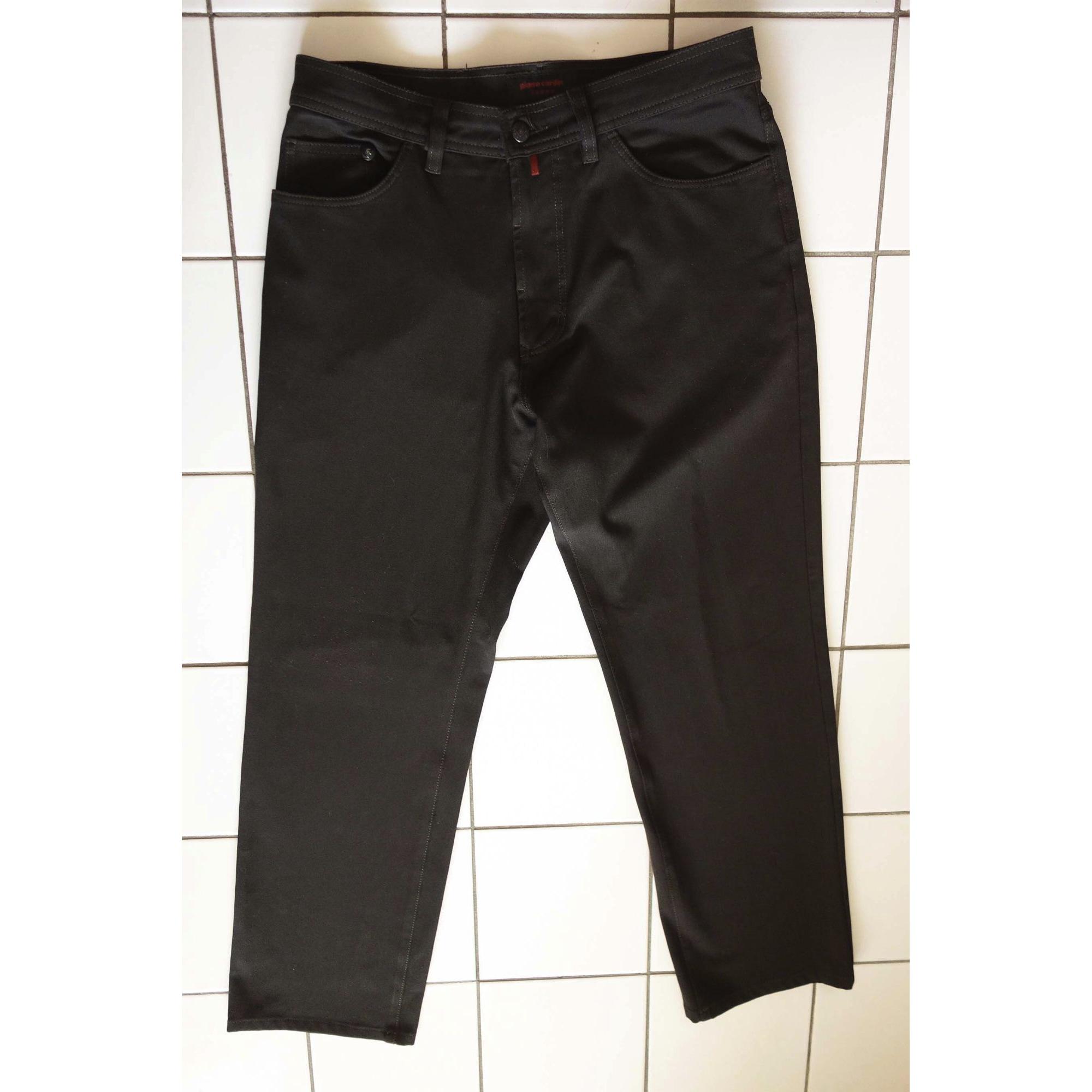 Jeans droit PIERRE CARDIN Marron