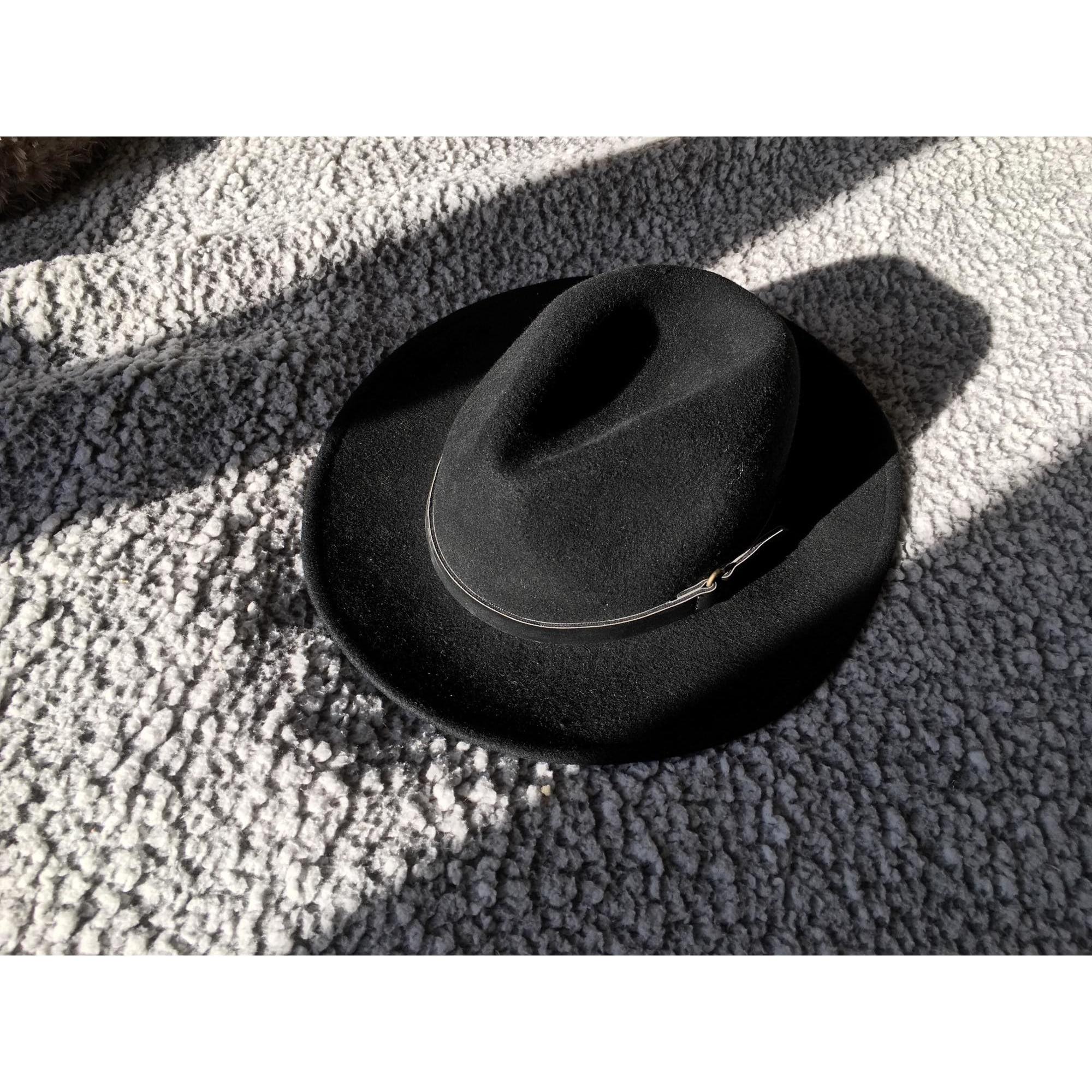 Chapeau MANGO Noir