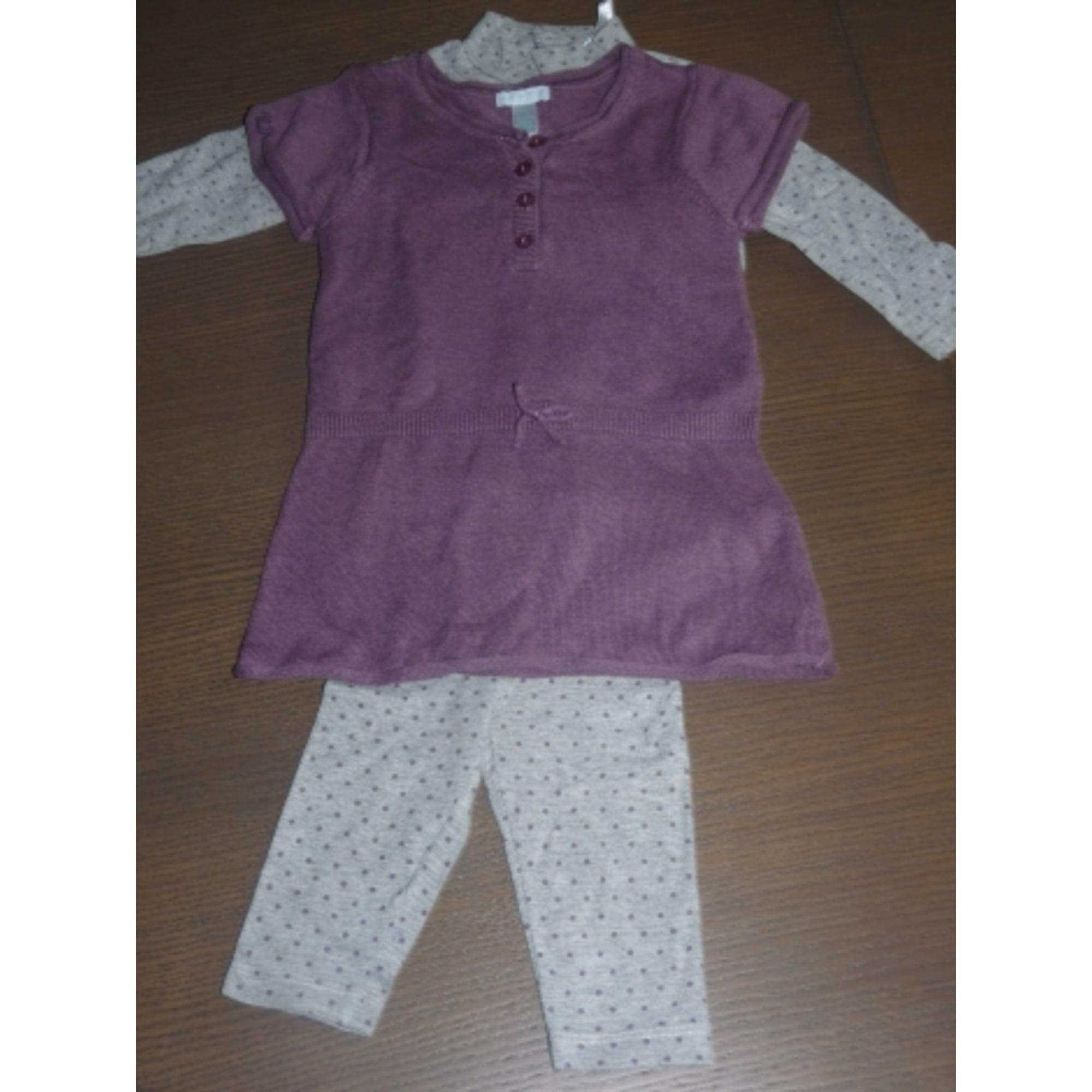 Ensemble & Combinaison pantalon OBAIBI Violet, mauve, lavande