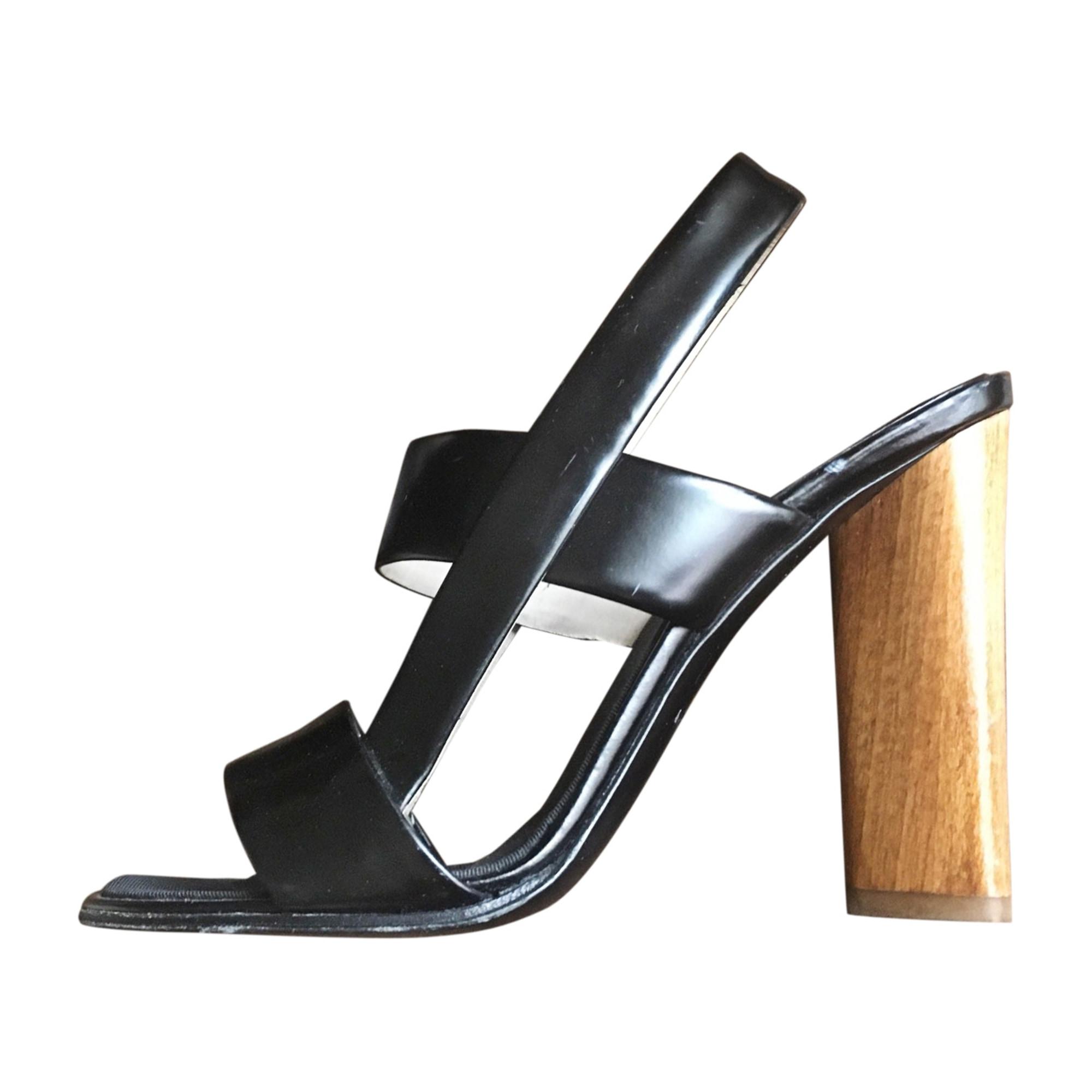 Heeled Sandals YVES SAINT LAURENT Black