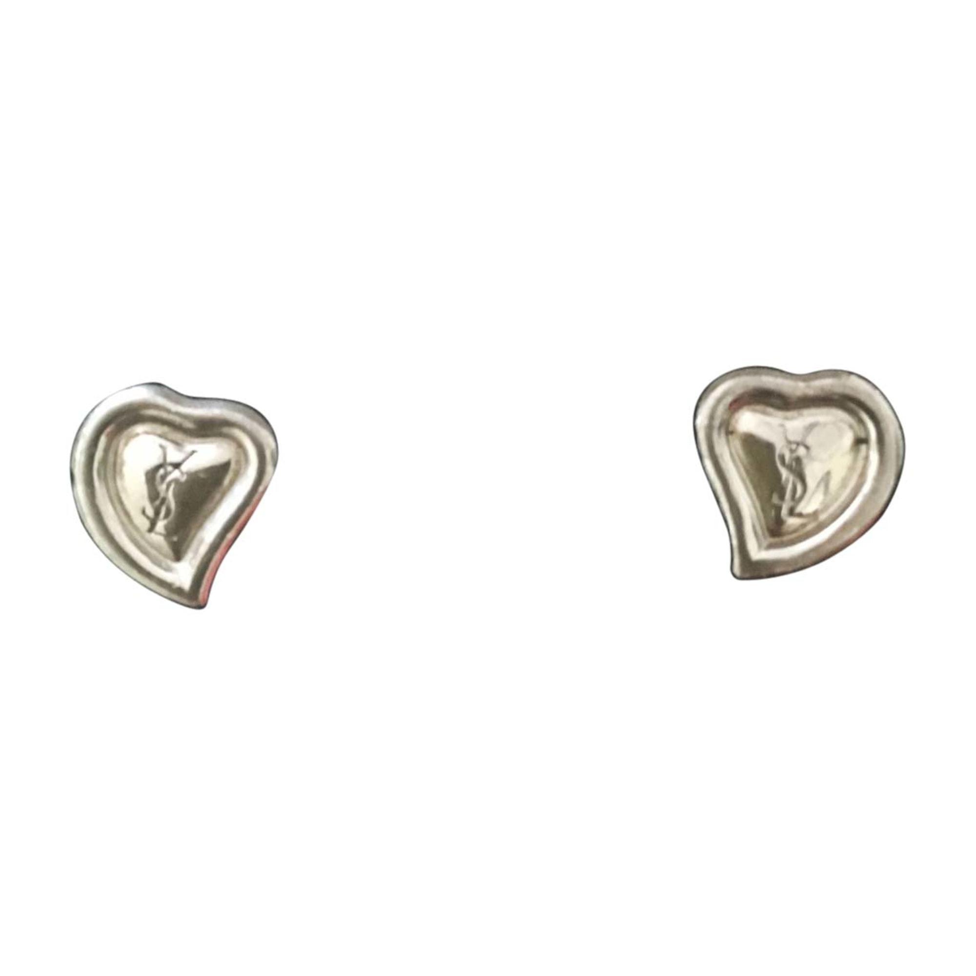 Earrings YVES SAINT LAURENT Silver
