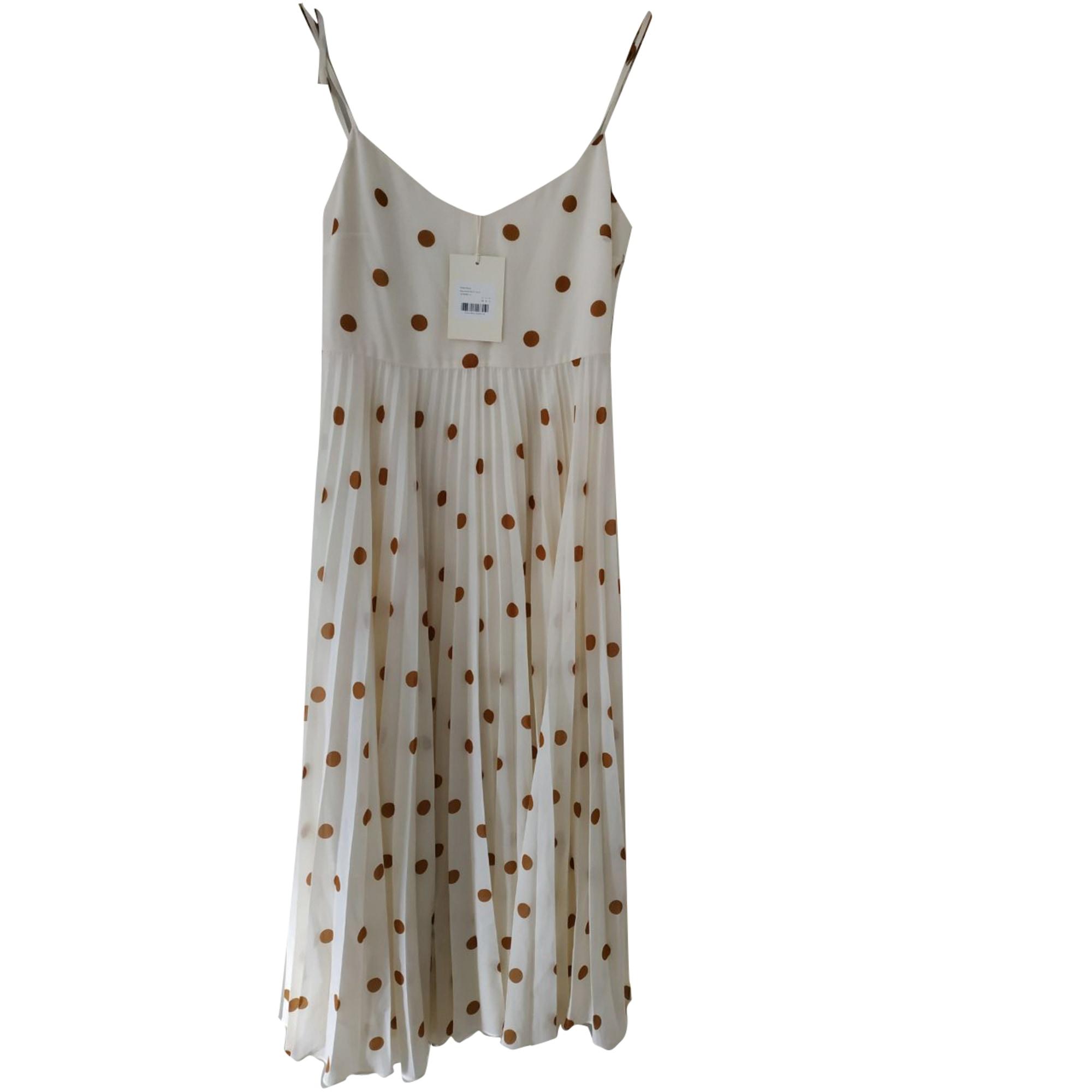 Maxi-Kleid SÉZANE Weiß, elfenbeinfarben
