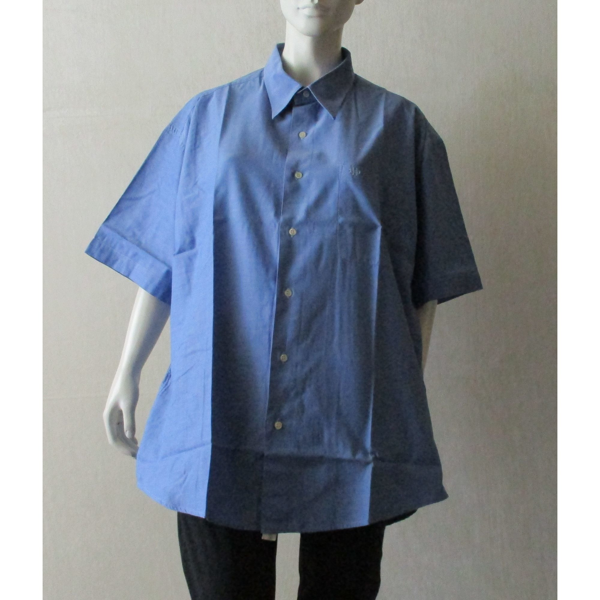 Chemise DANIEL HECHTER Bleu, bleu marine, bleu turquoise