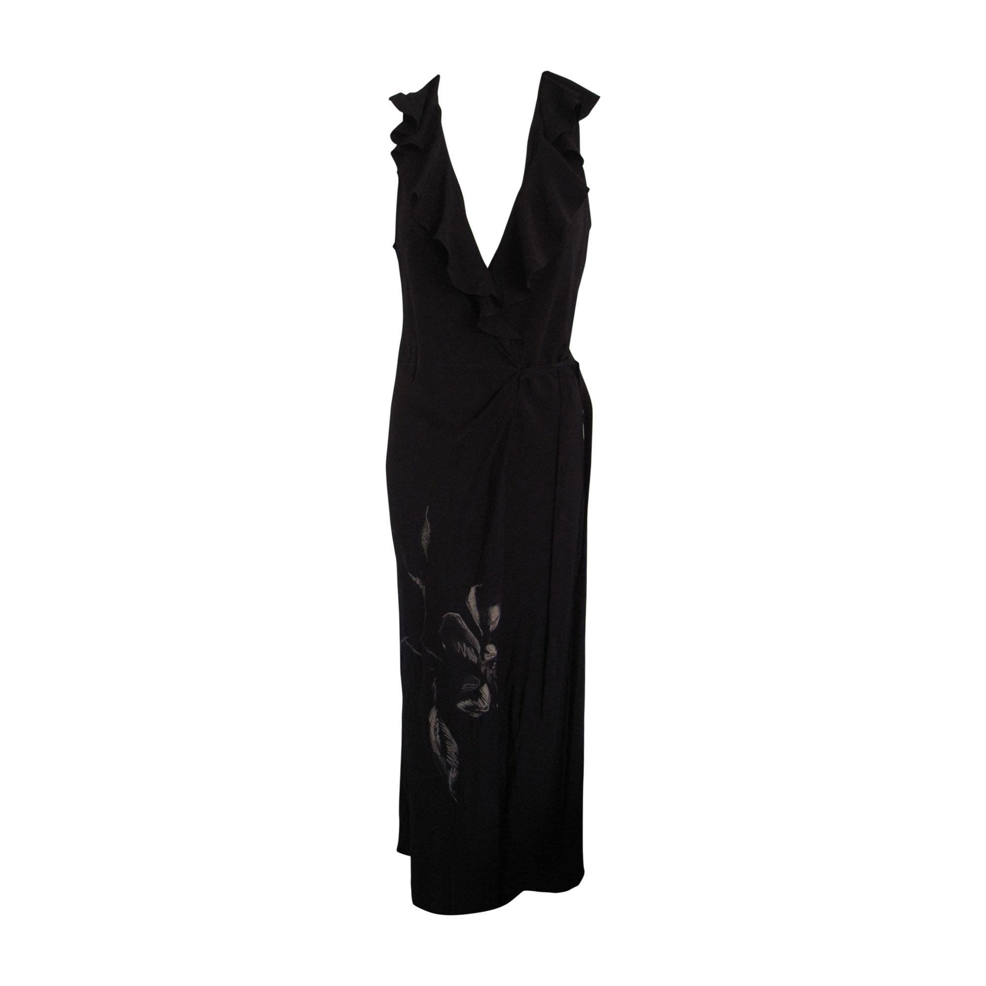Robe longue CHLOÉ Noir
