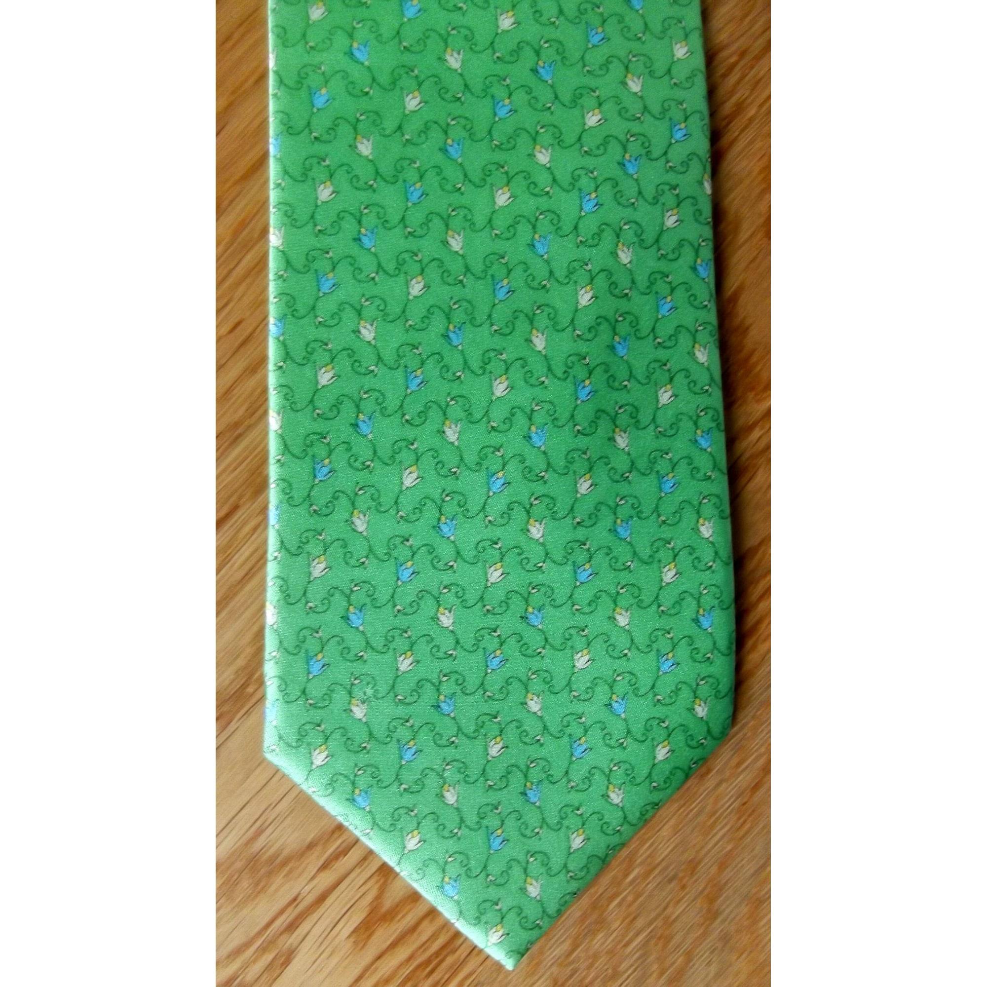Cravate CARVEN Vert