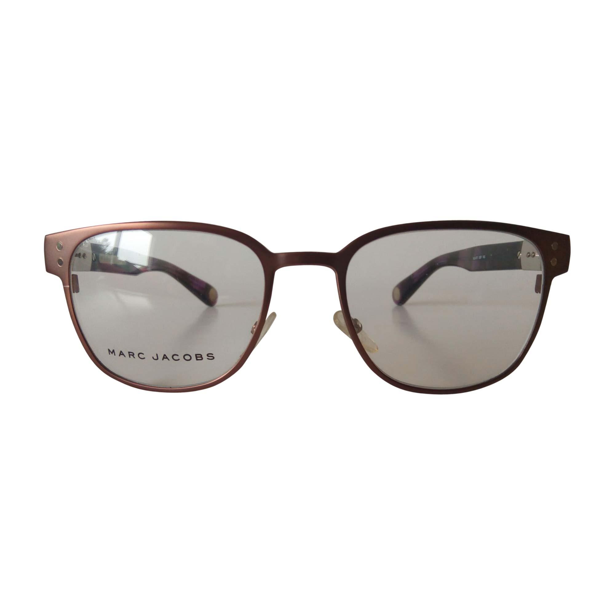 Monture de lunettes MARC JACOBS Rouge, bordeaux