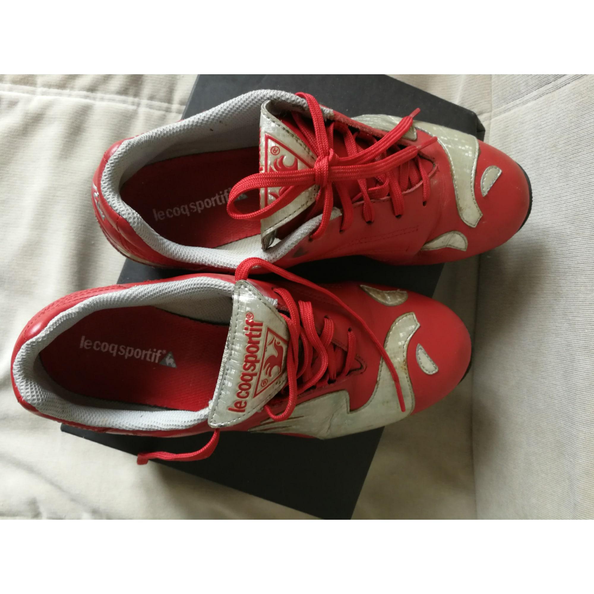 Chaussures de sport LE COQ SPORTIF Rouge, bordeaux