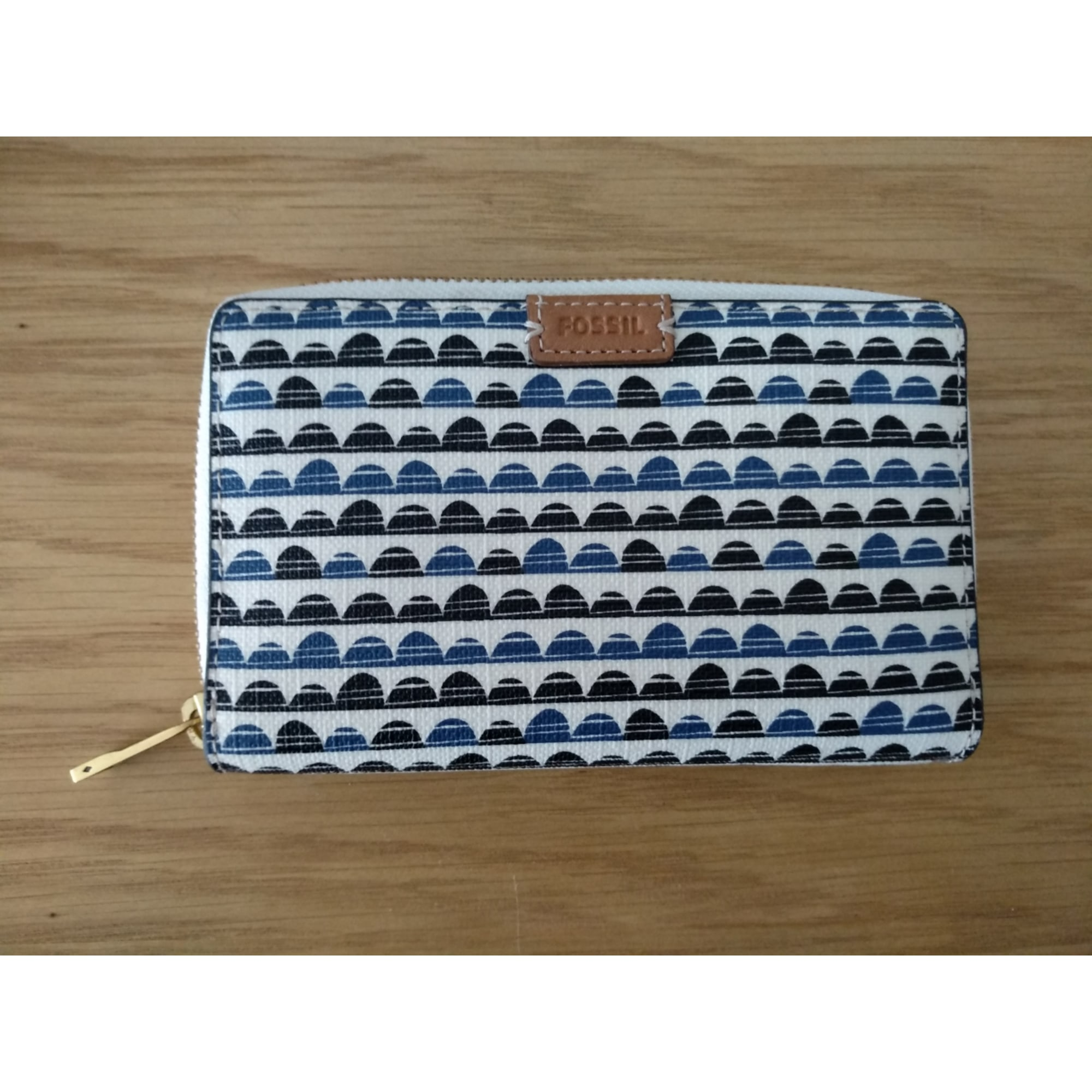 Portefeuille FOSSIL Bleu, bleu marine, bleu turquoise