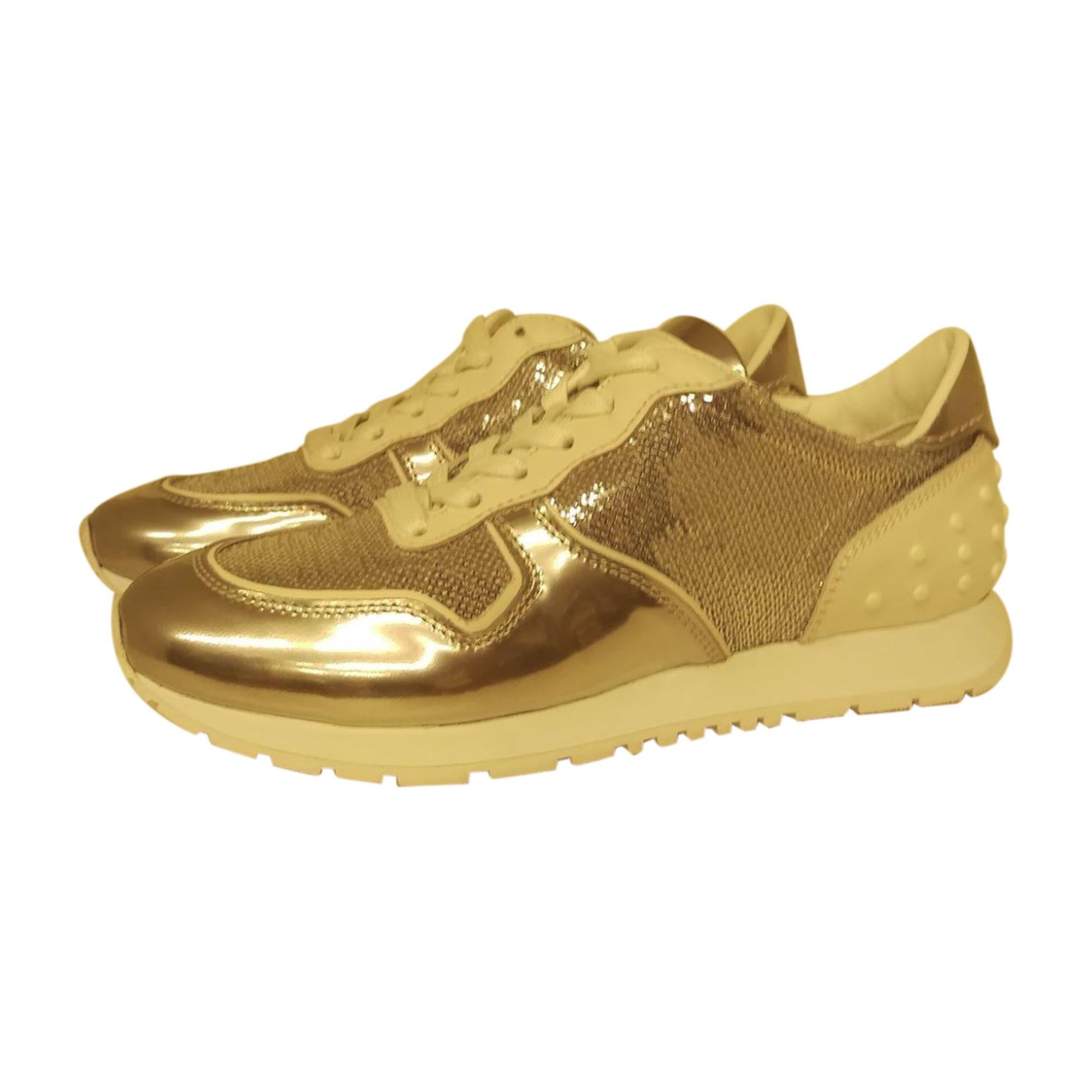 Chaussures de sport TOD'S Argenté, acier