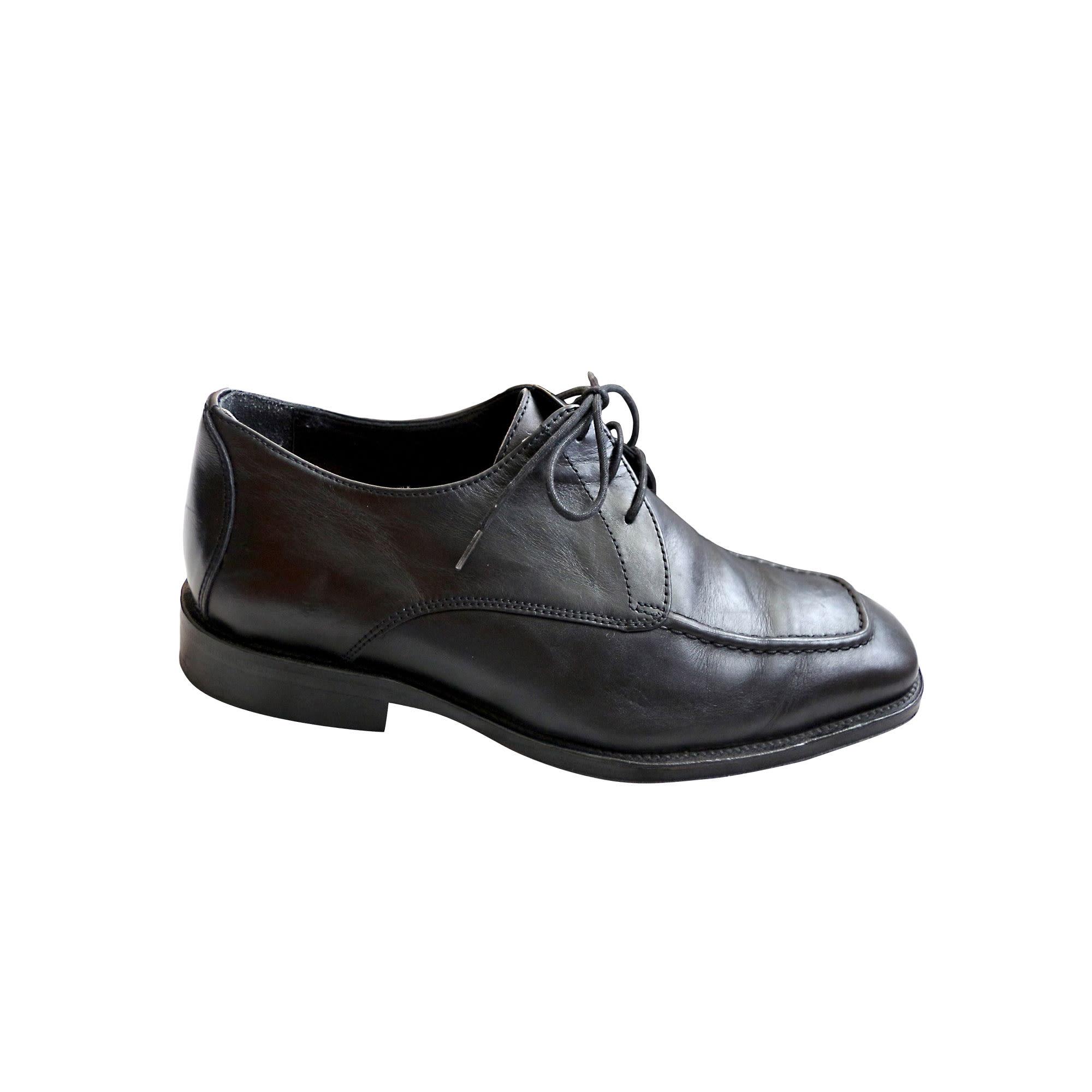 Chaussures à lacets EDEN PARK Noir