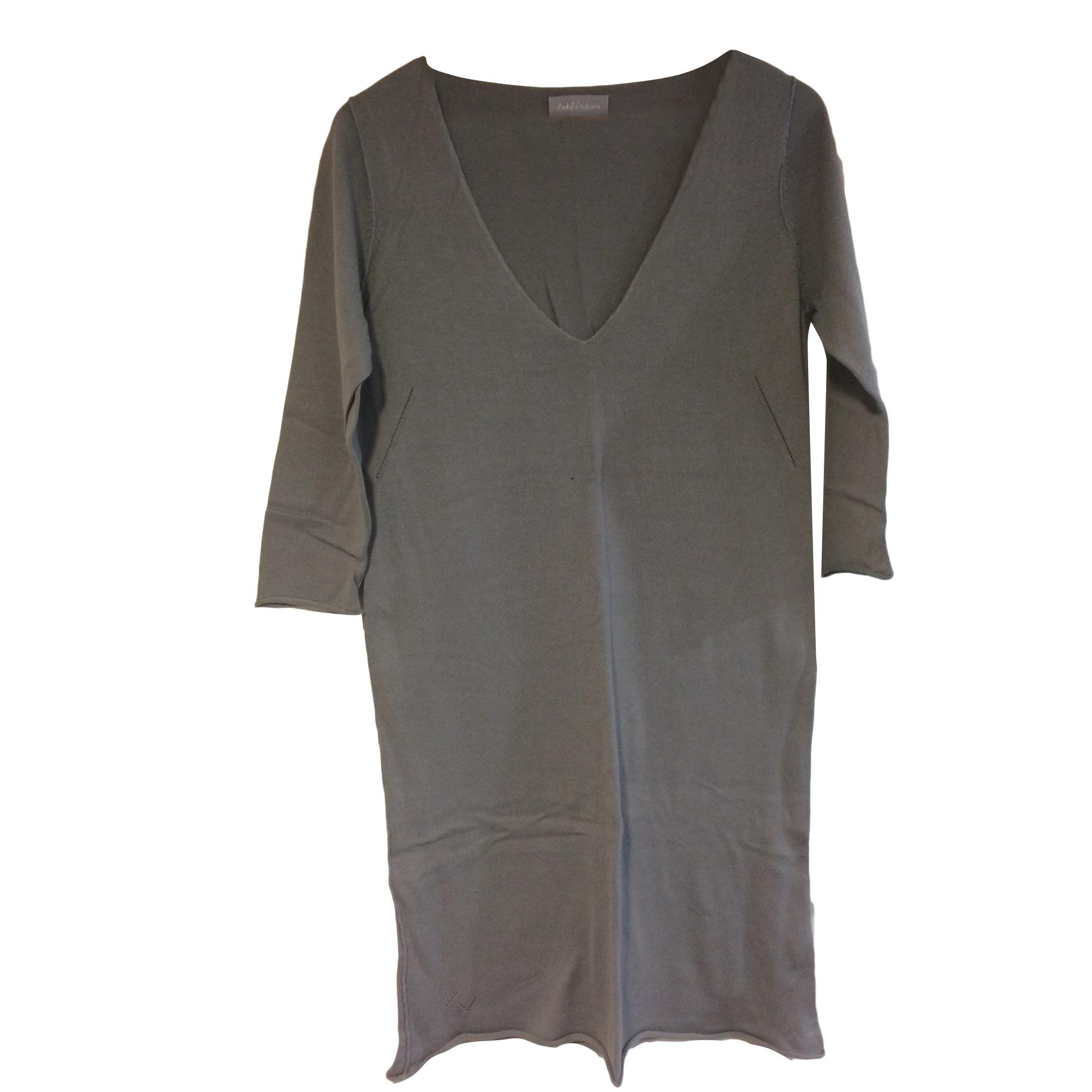 Robe tunique ZADIG & VOLTAIRE Gris, anthracite
