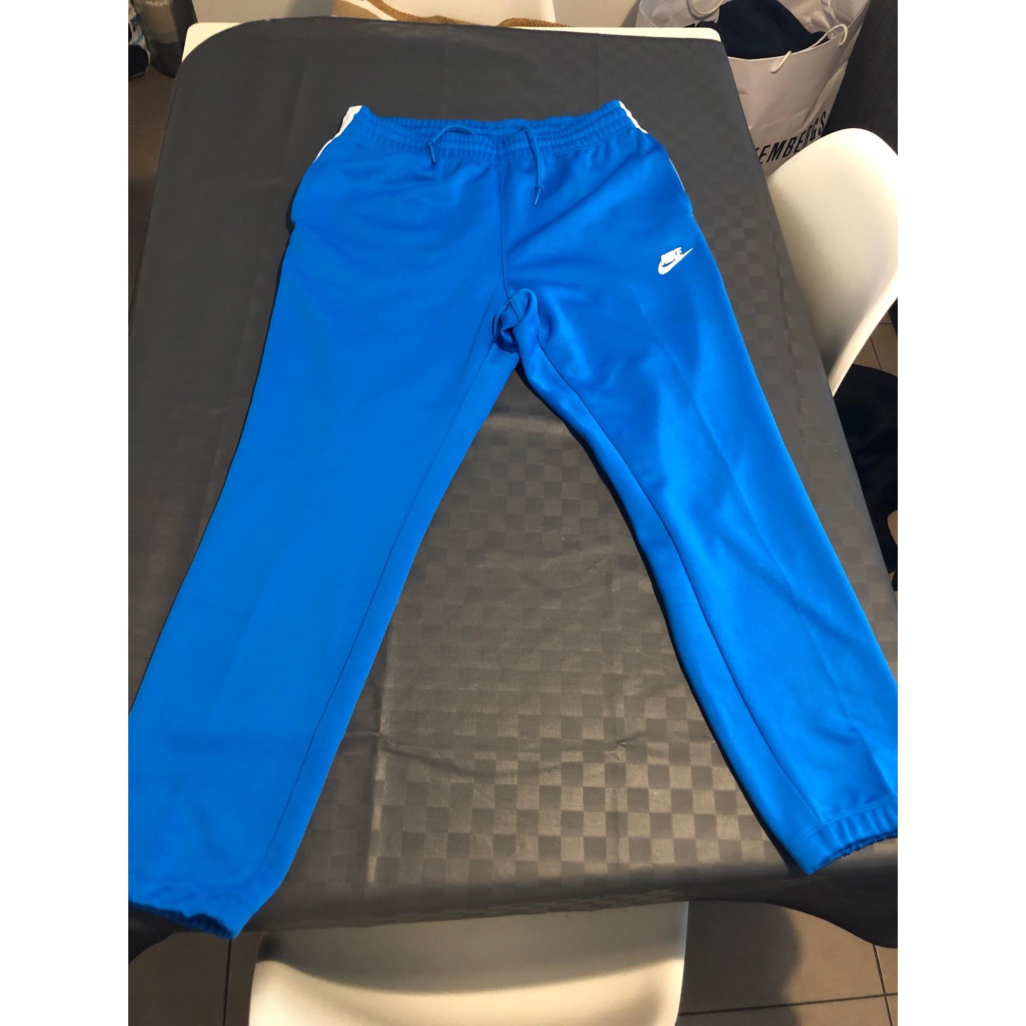 pantalon nike bleu marie