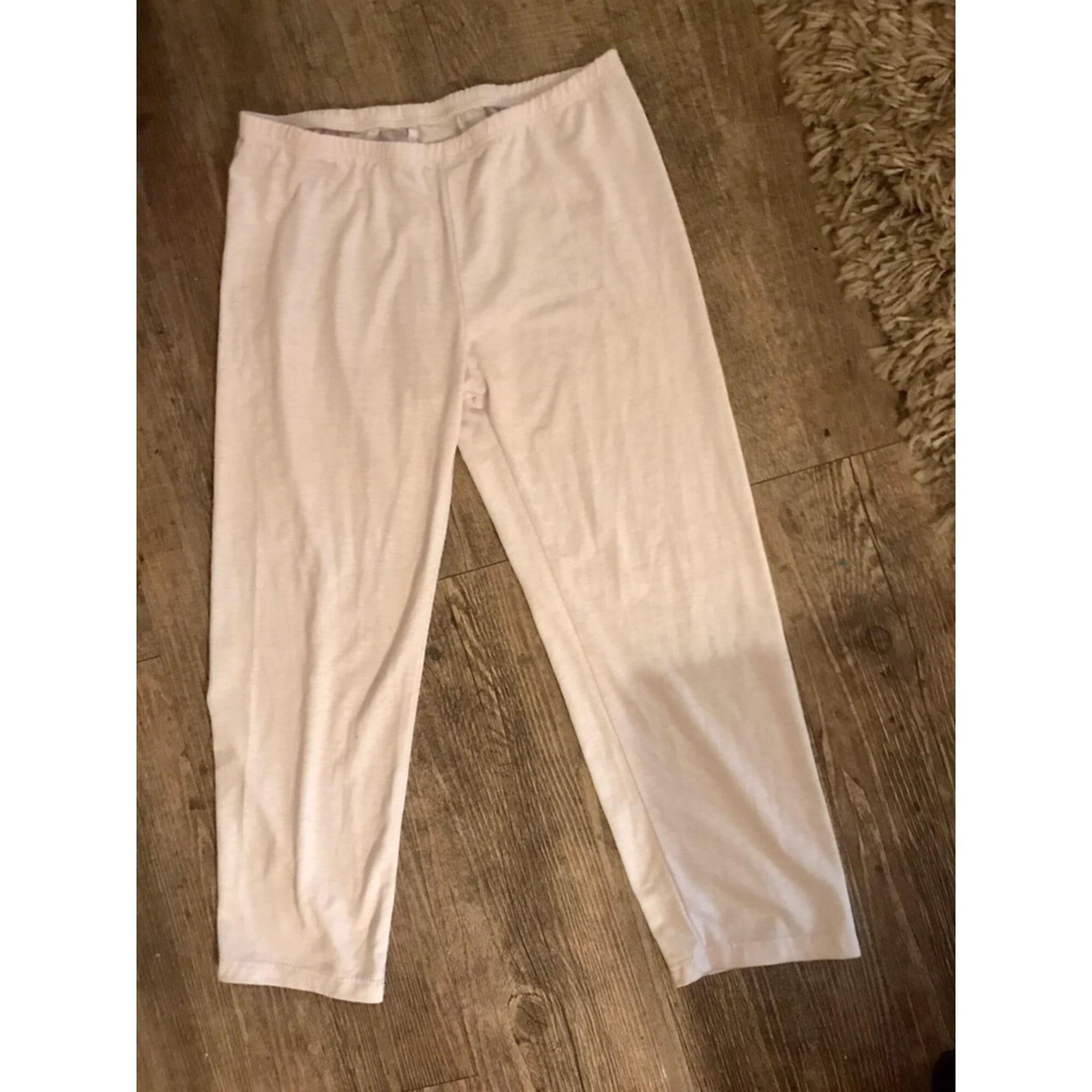 Pantacourt, corsaire H&M Blanc, blanc cassé, écru