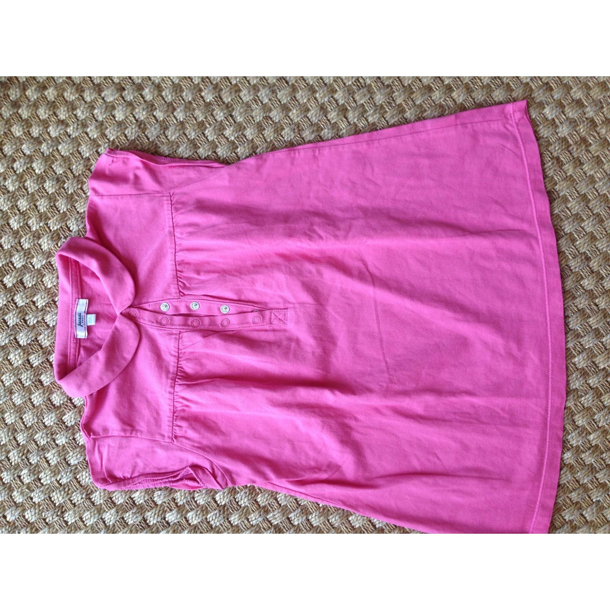 Top, Tee-shirt JACADI Rose, fuschia, vieux rose