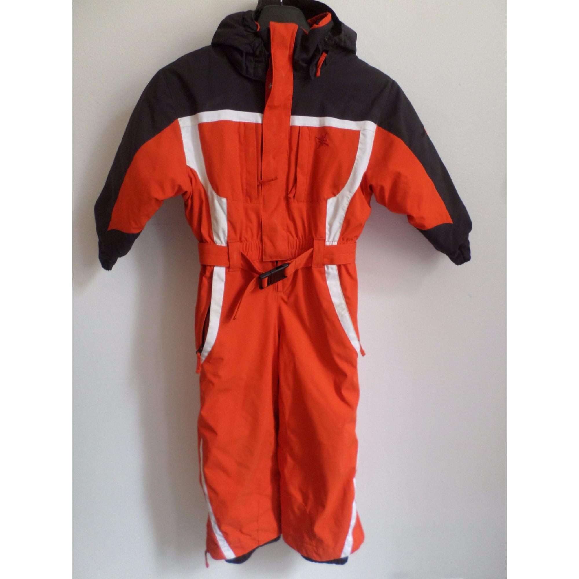 Combinaison de ski DEGRÉ Orange