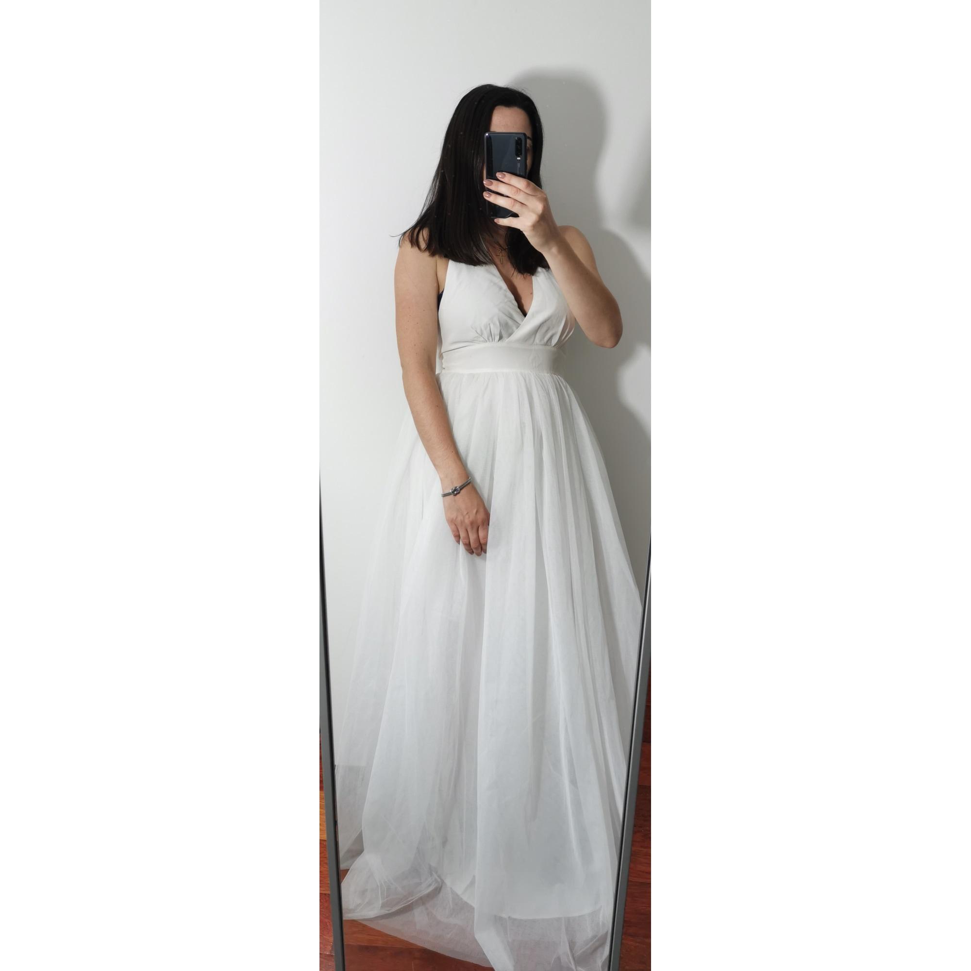 Robe de mariée NAF NAF 38 (M, T2) blanc -