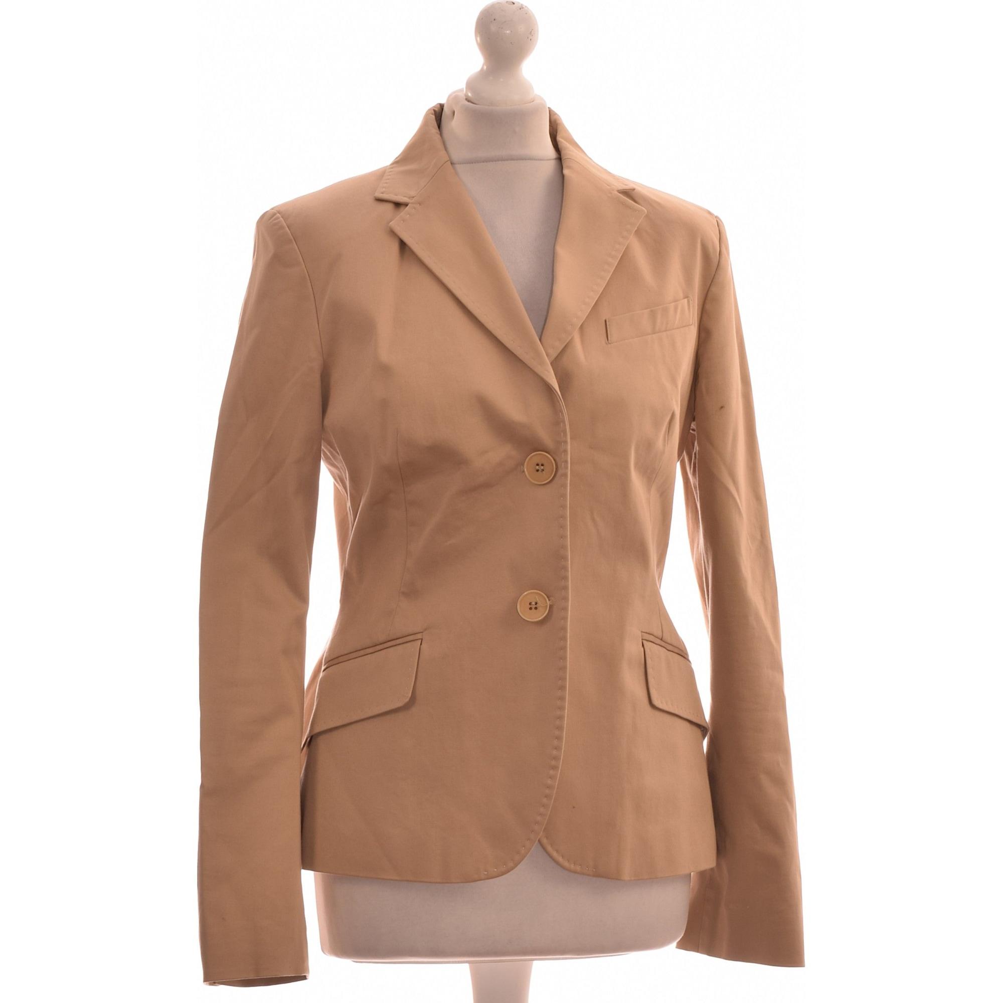 Blazer, veste tailleur ZARA 40 (L, T3) beige 9324957