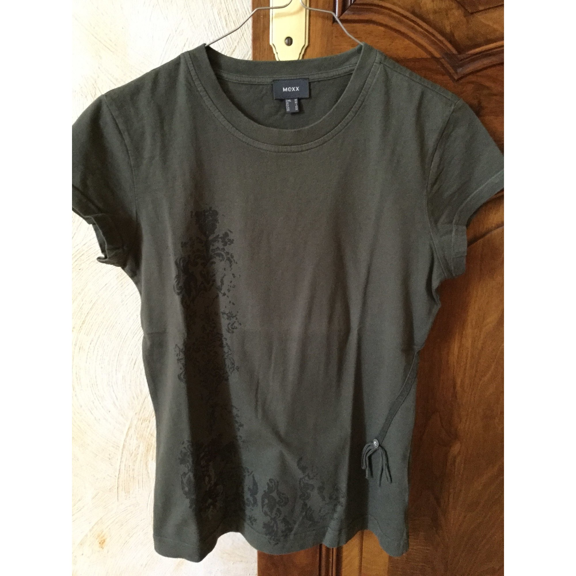 Top, tee-shirt MEXX Kaki