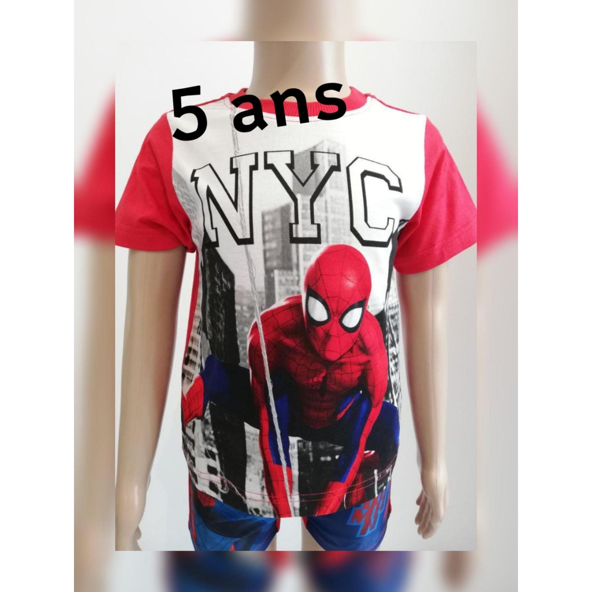 Tee-shirt MARVEL Rouge, bordeaux