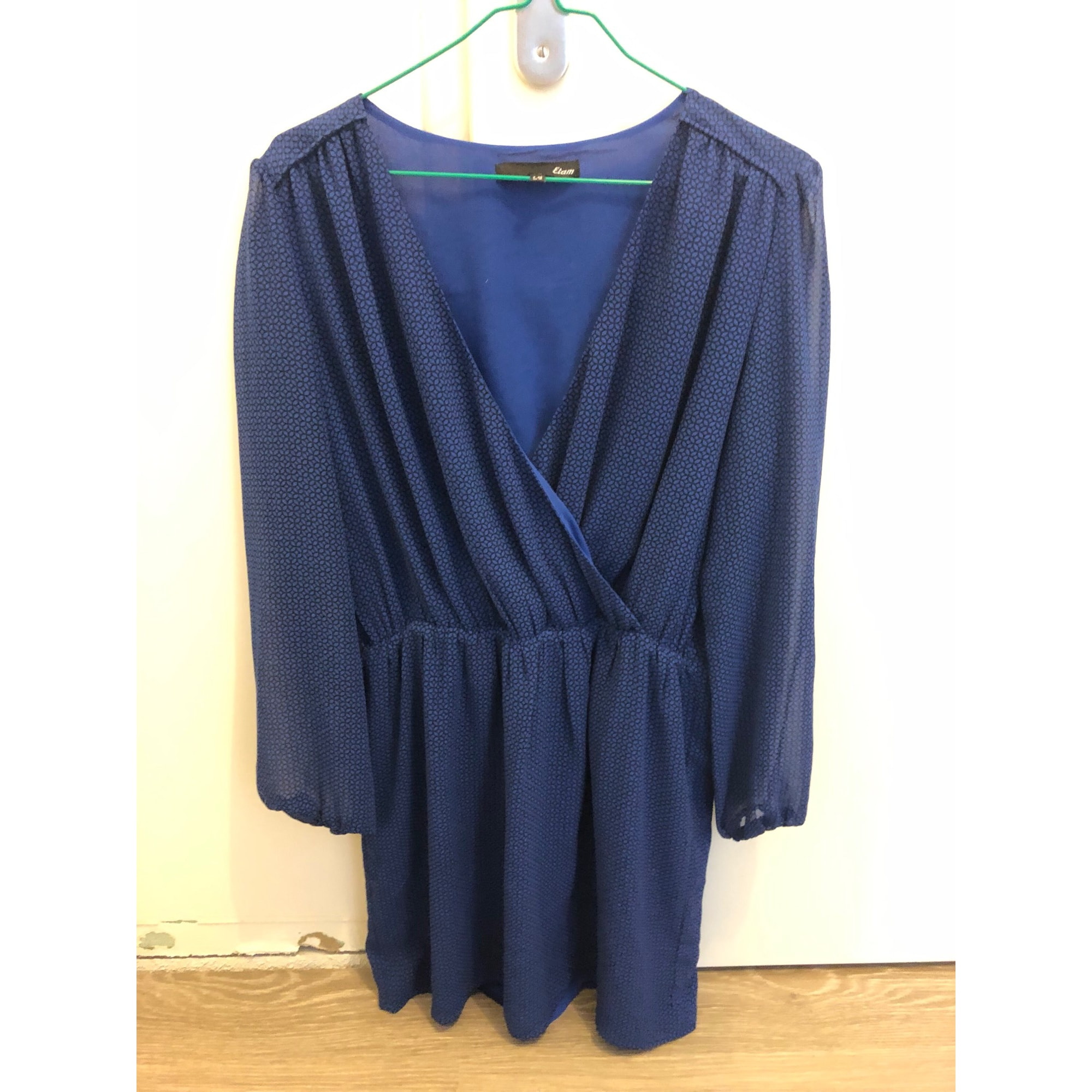 Robe mi-longue ETAM Bleu, bleu marine, bleu turquoise