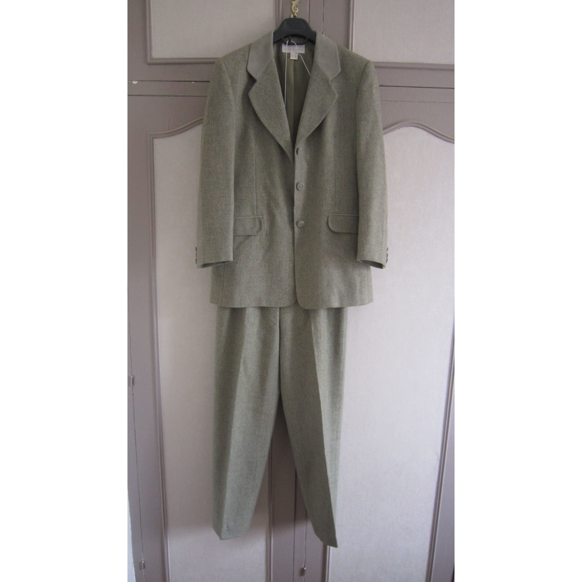 Tailleur pantalon UN JOUR AILLEURS Vert
