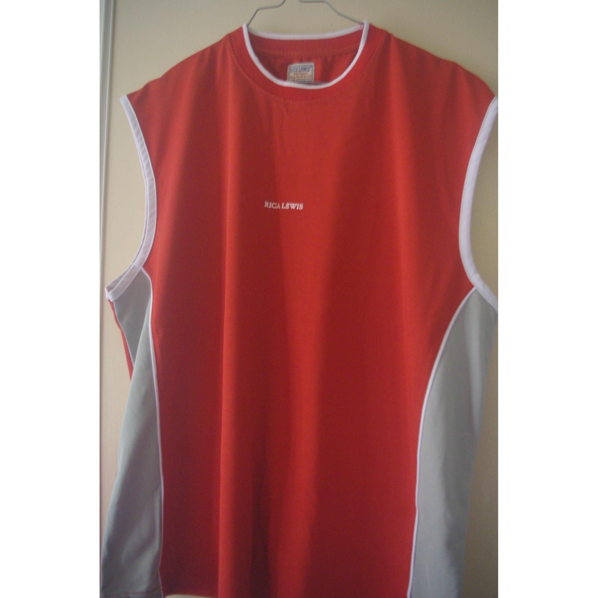 Tee-shirt RICA LEWIS Rouge, bordeaux