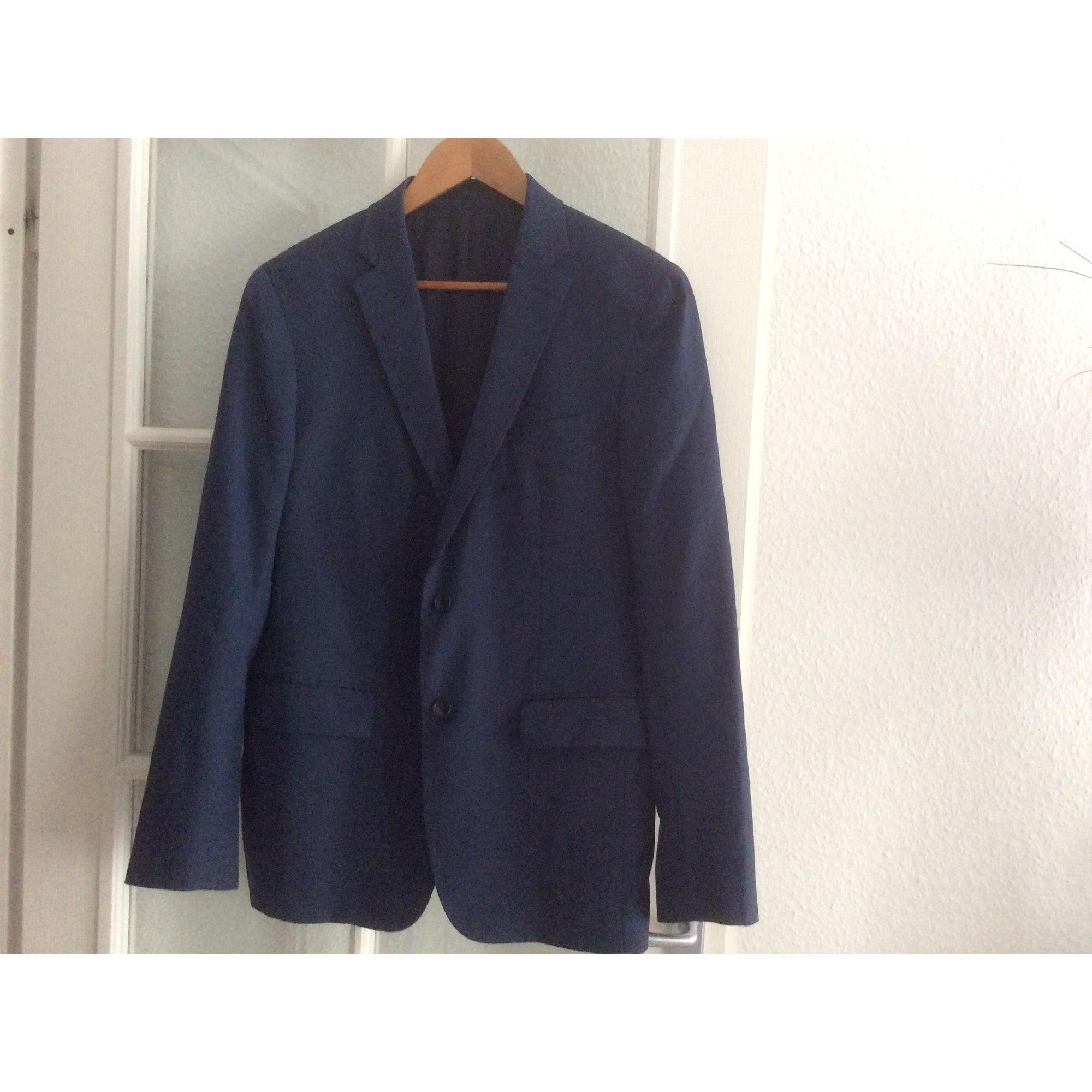 Veste ANTHONY GARÇON Bleu, bleu marine, bleu turquoise
