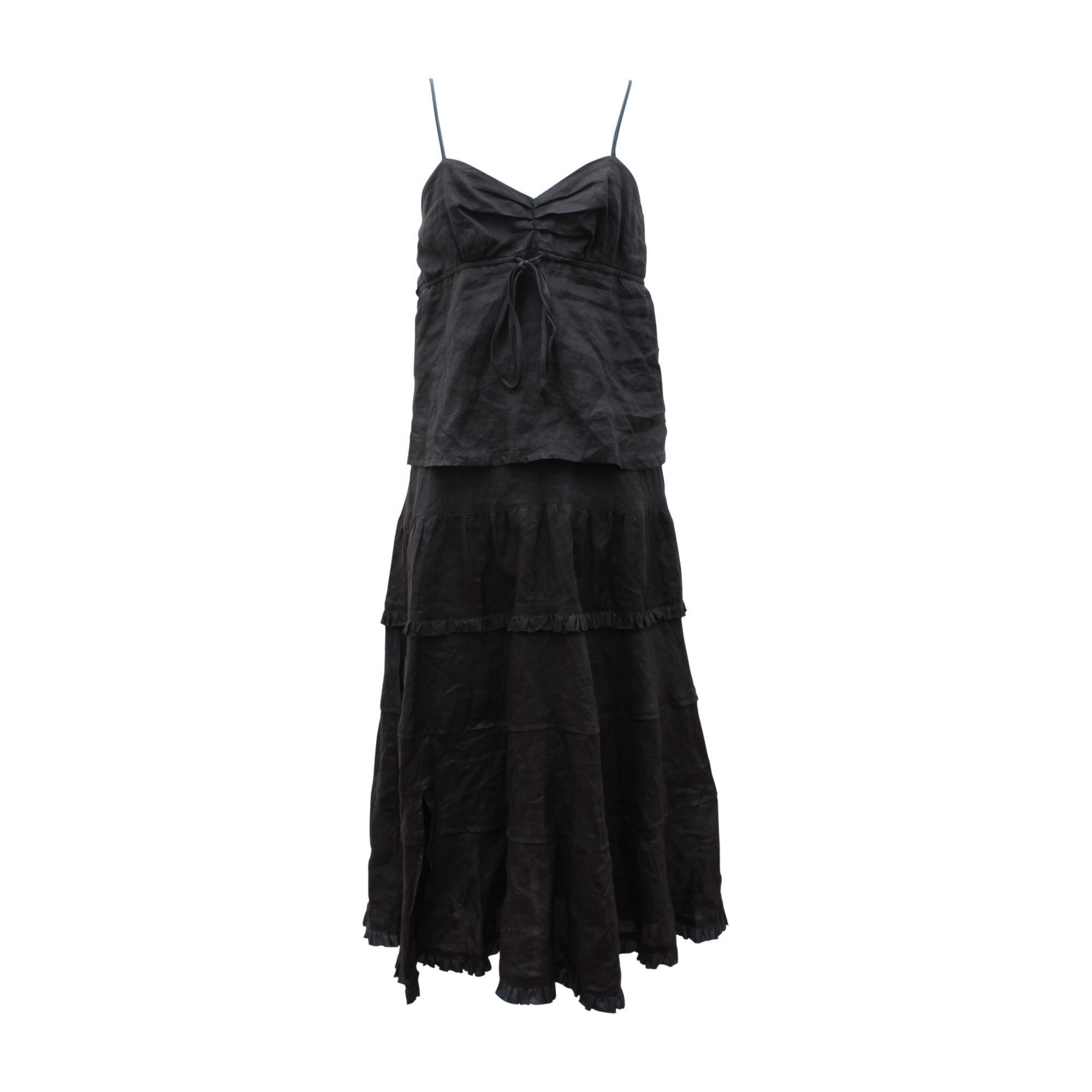 Robe longue CALVIN KLEIN Noir