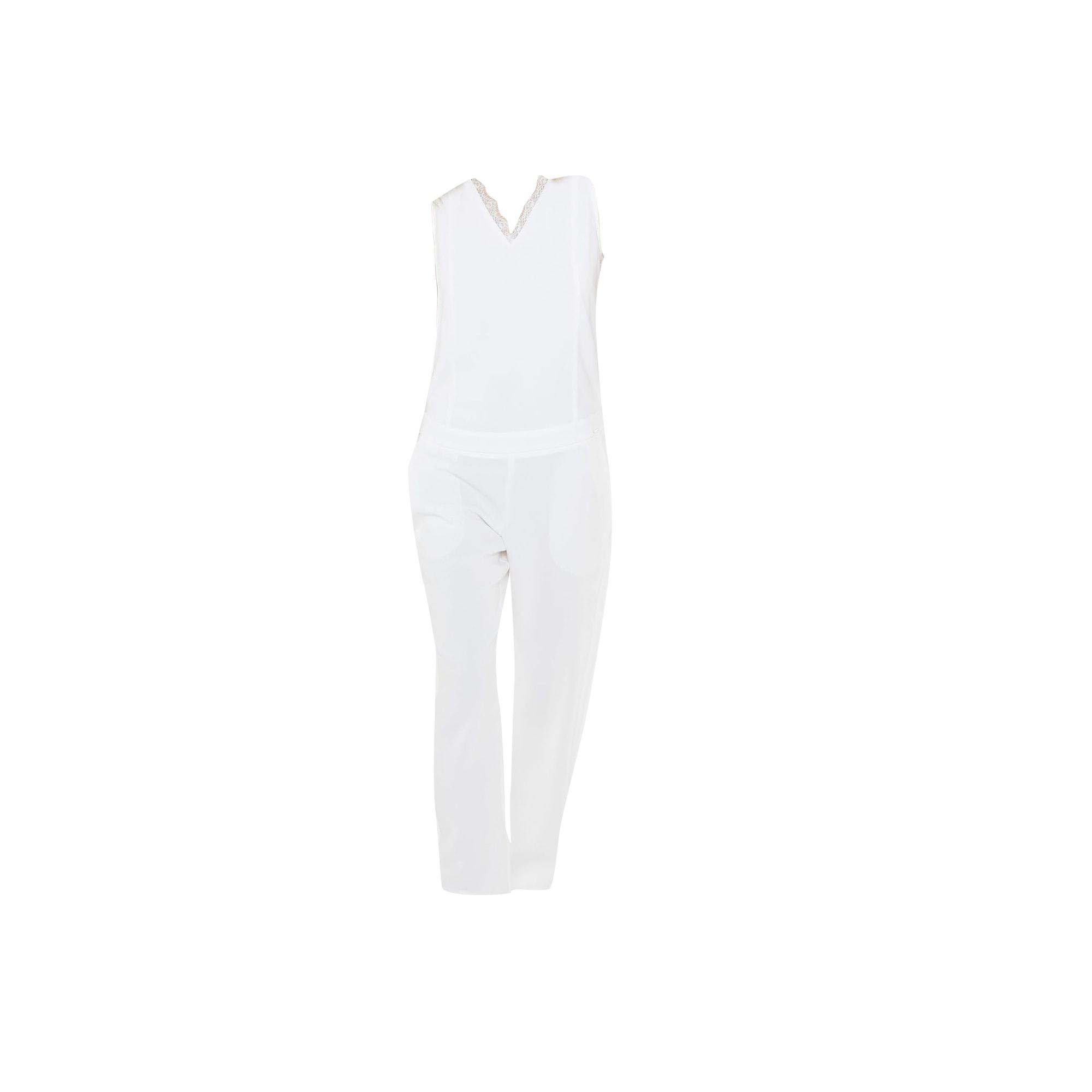 Combinaison IKKS Blanc, blanc cassé, écru