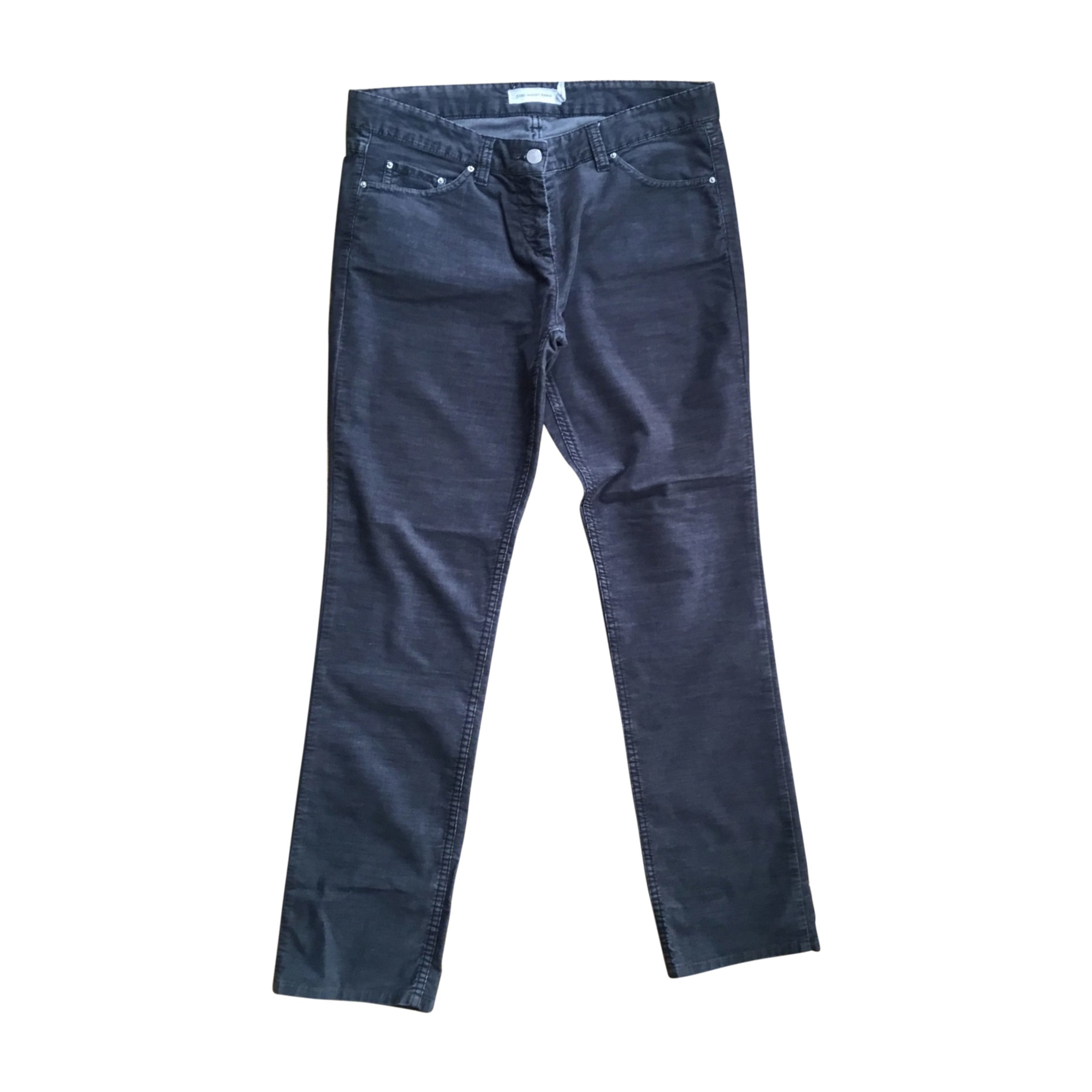 Straight Leg Jeans ISABEL MARANT Gray, charcoal