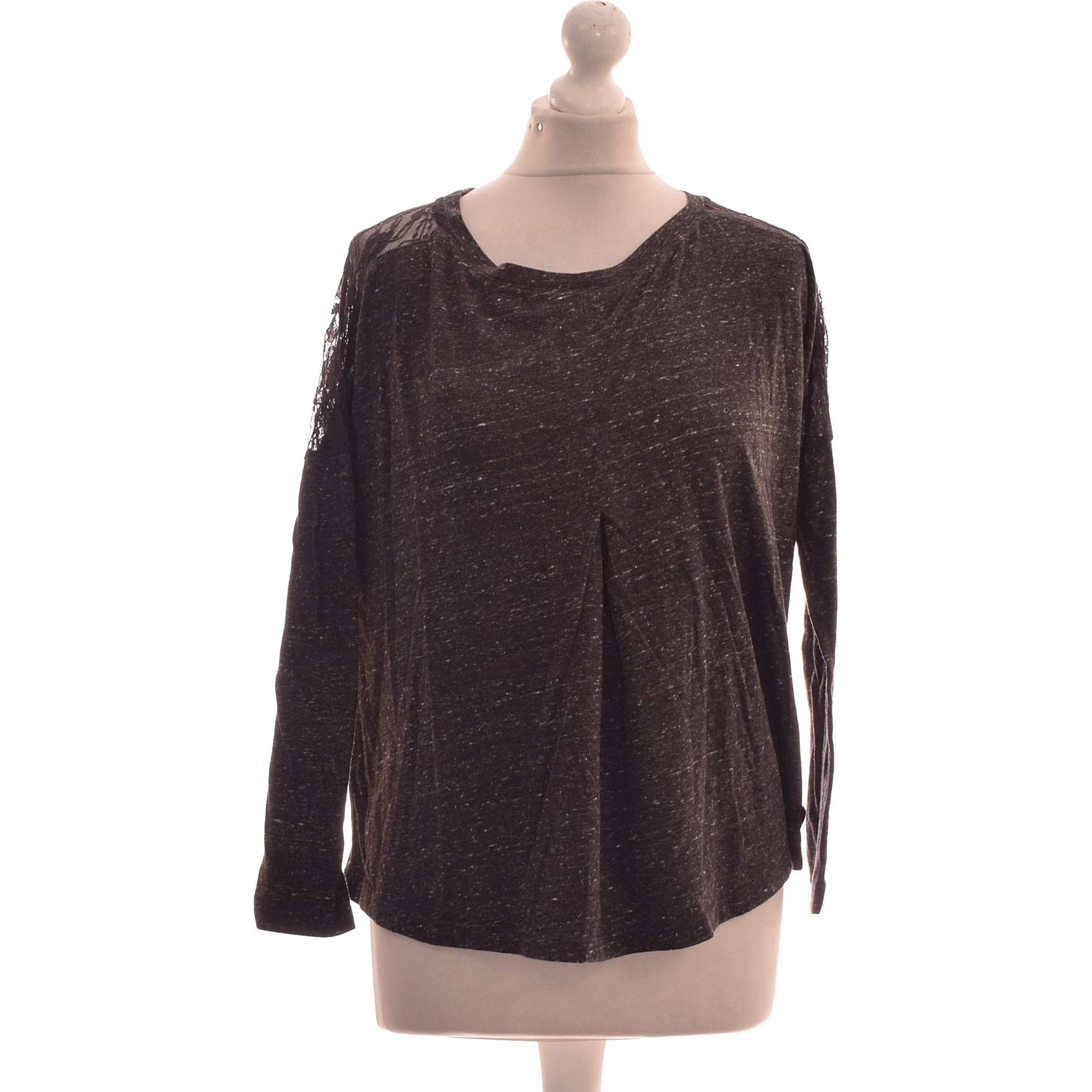 Top, tee-shirt TEDDY SMITH Gris, anthracite