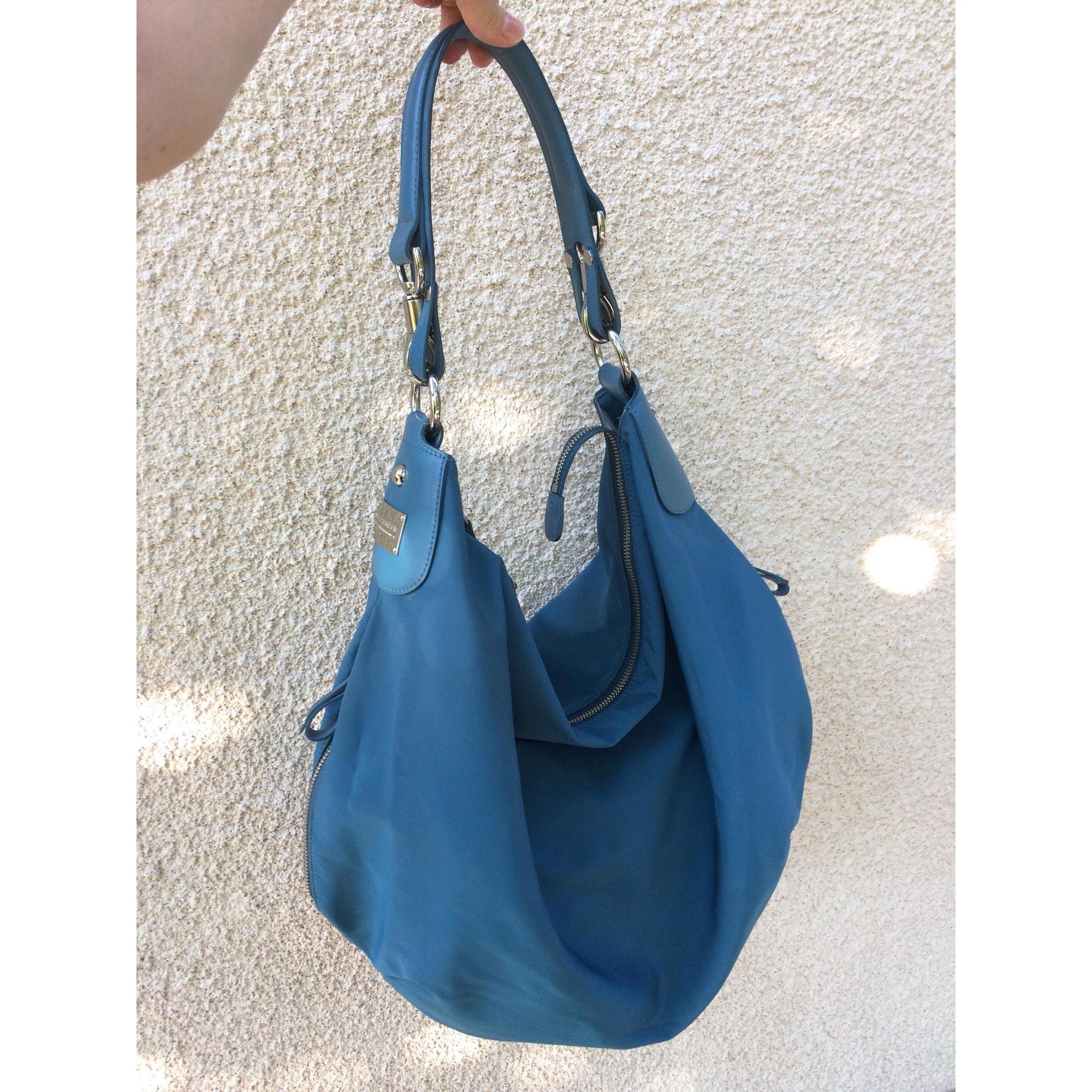 Sac à main en tissu LE TANNEUR Bleu, bleu marine, bleu turquoise